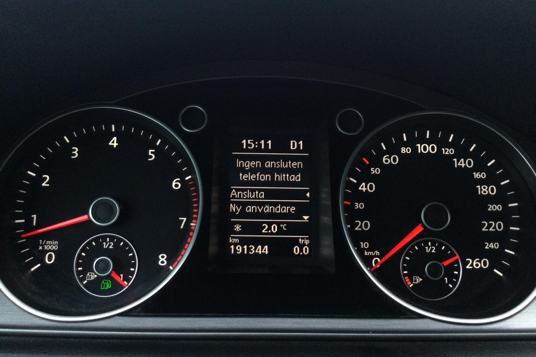 VW Passat 1.4 TSI EcoFuel Variant (150hk) - 191 340 km - Automatic - white - 2014