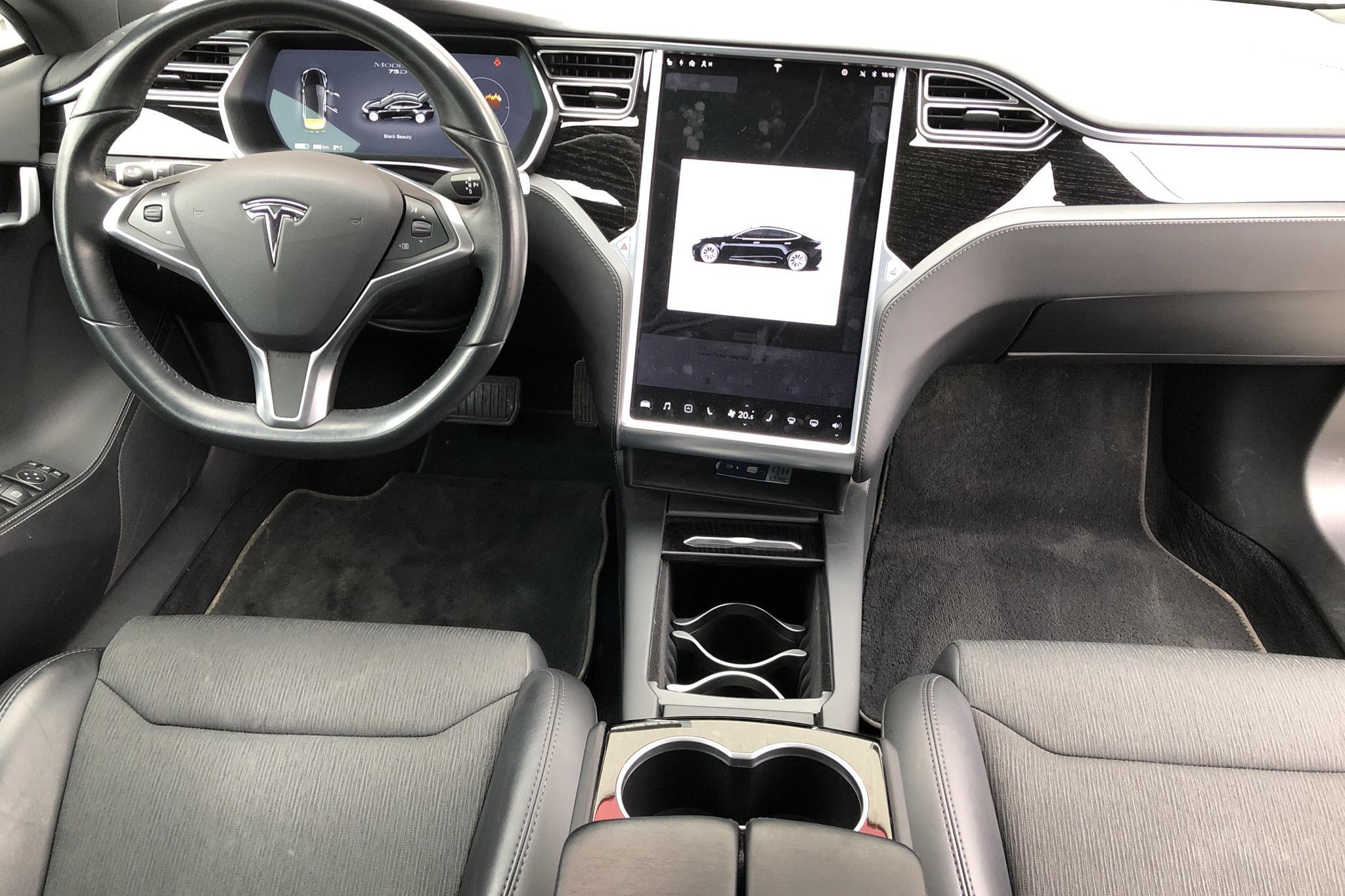 Tesla Model S 75D (525hk) - 6 004 mil - Automat - svart - 2018