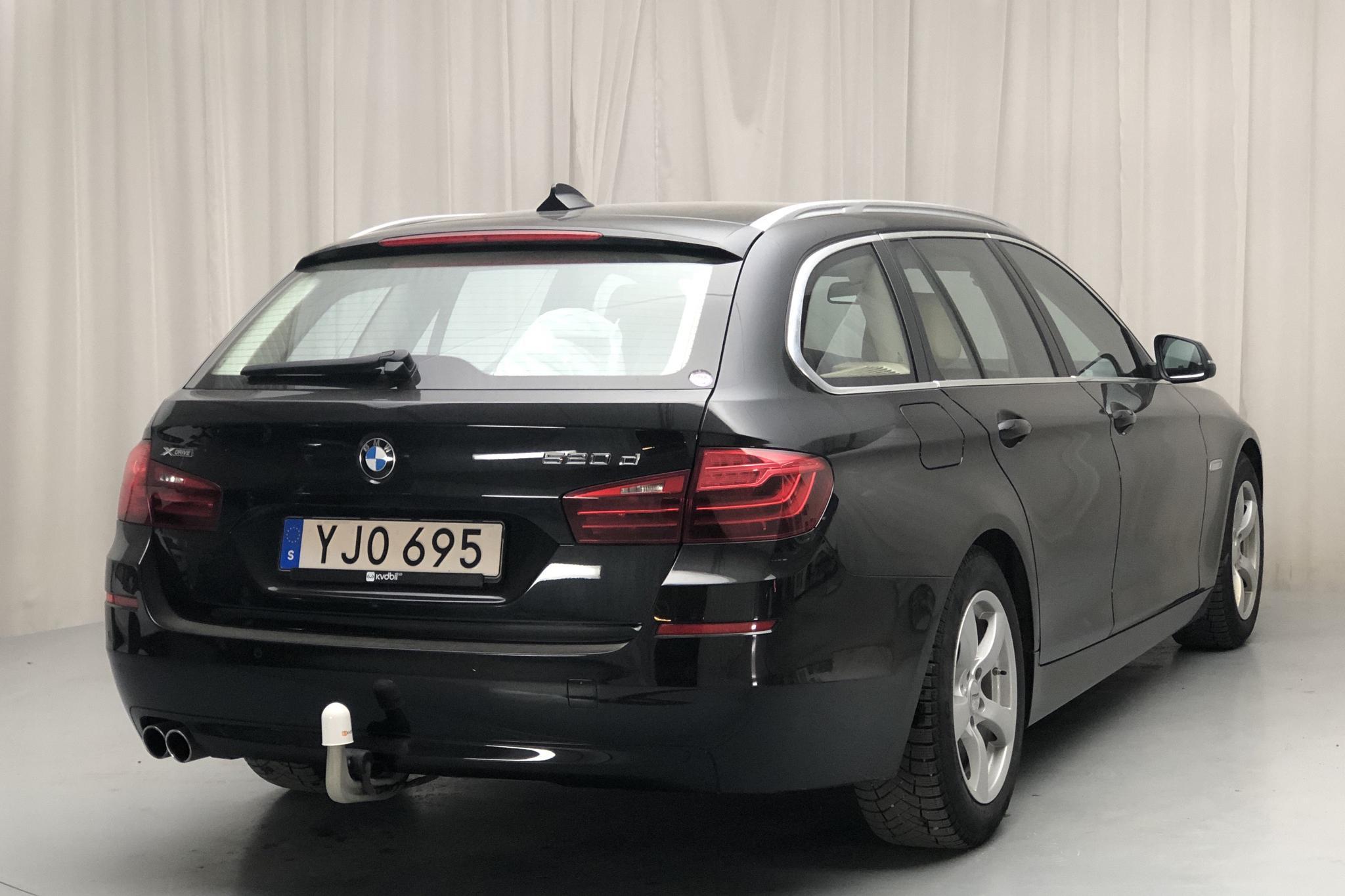 BMW 520d xDrive Touring, F11 (190hk) - 10 512 mil - Automat - svart - 2017