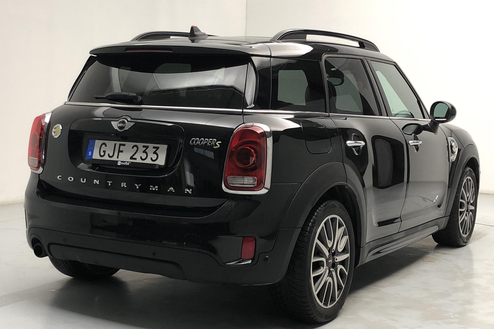 MINI Cooper S E ALL4 Countryman, F60 (224hk) - 43 340 km - Automatic - black - 2018