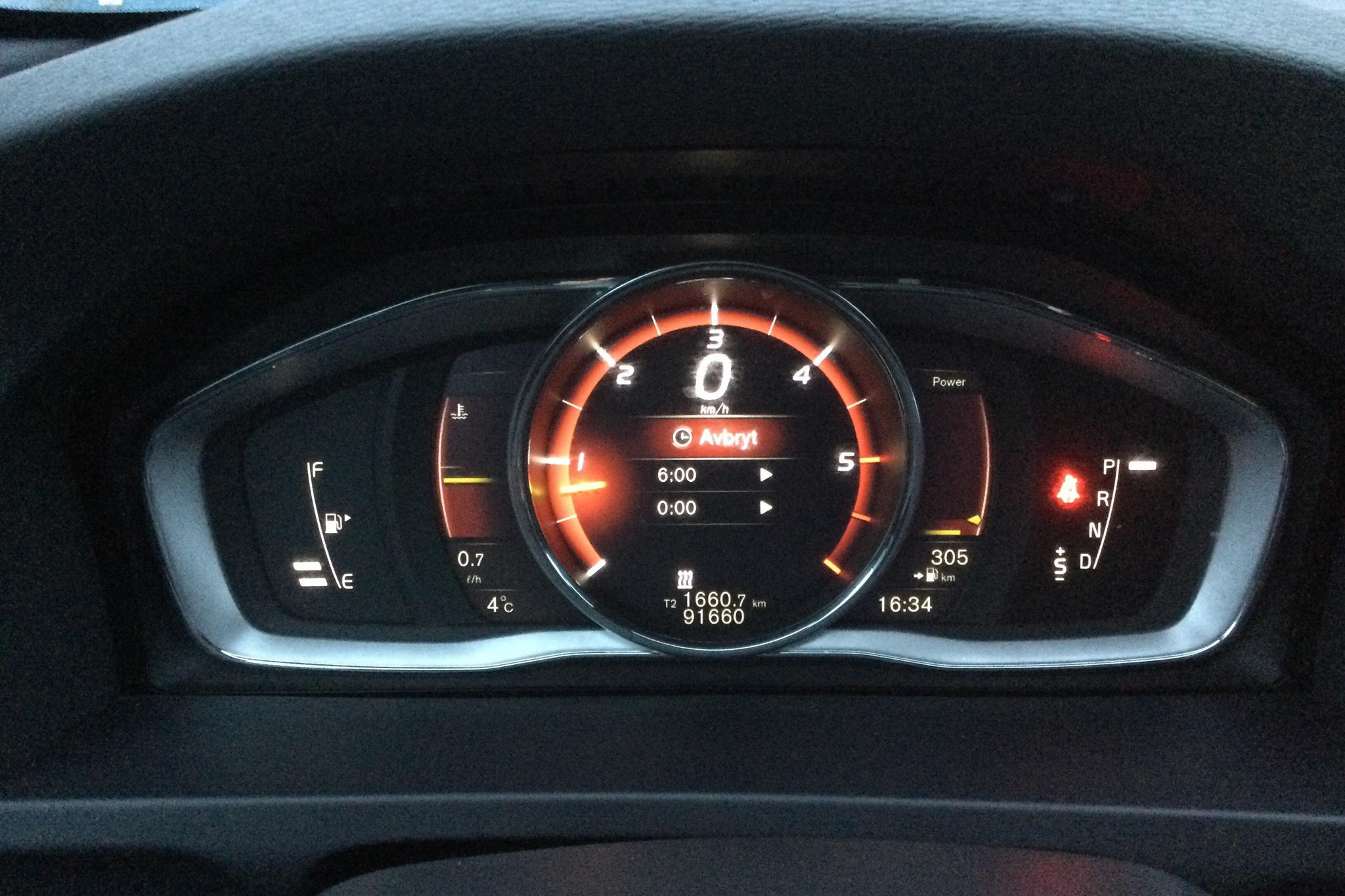 Volvo V60 D4 AWD (190hk) - 9 166 mil - Automat - vit - 2018