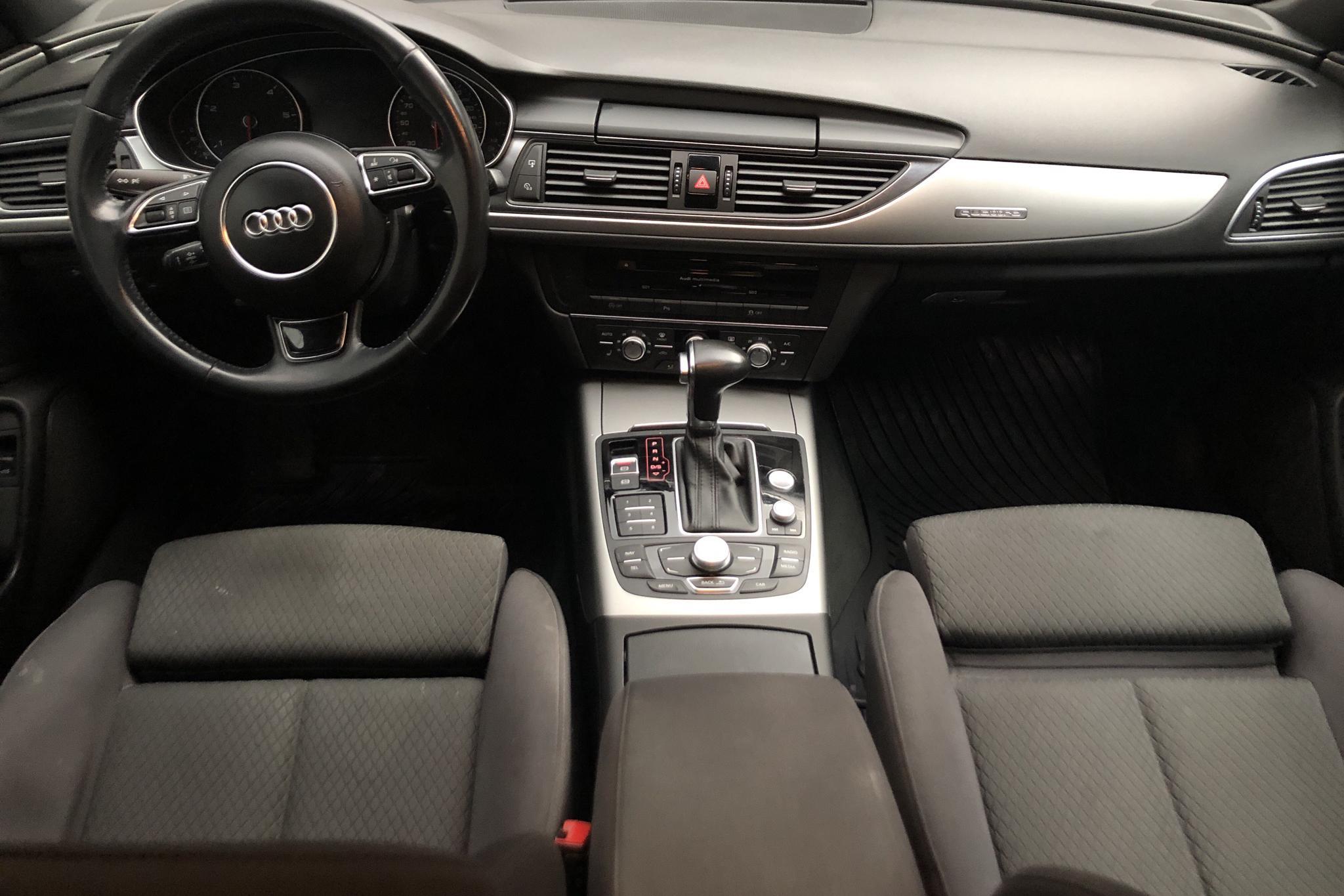 Audi A6 3.0 TDI quattro (204hk) - 224 190 km - Automatic - black - 2014