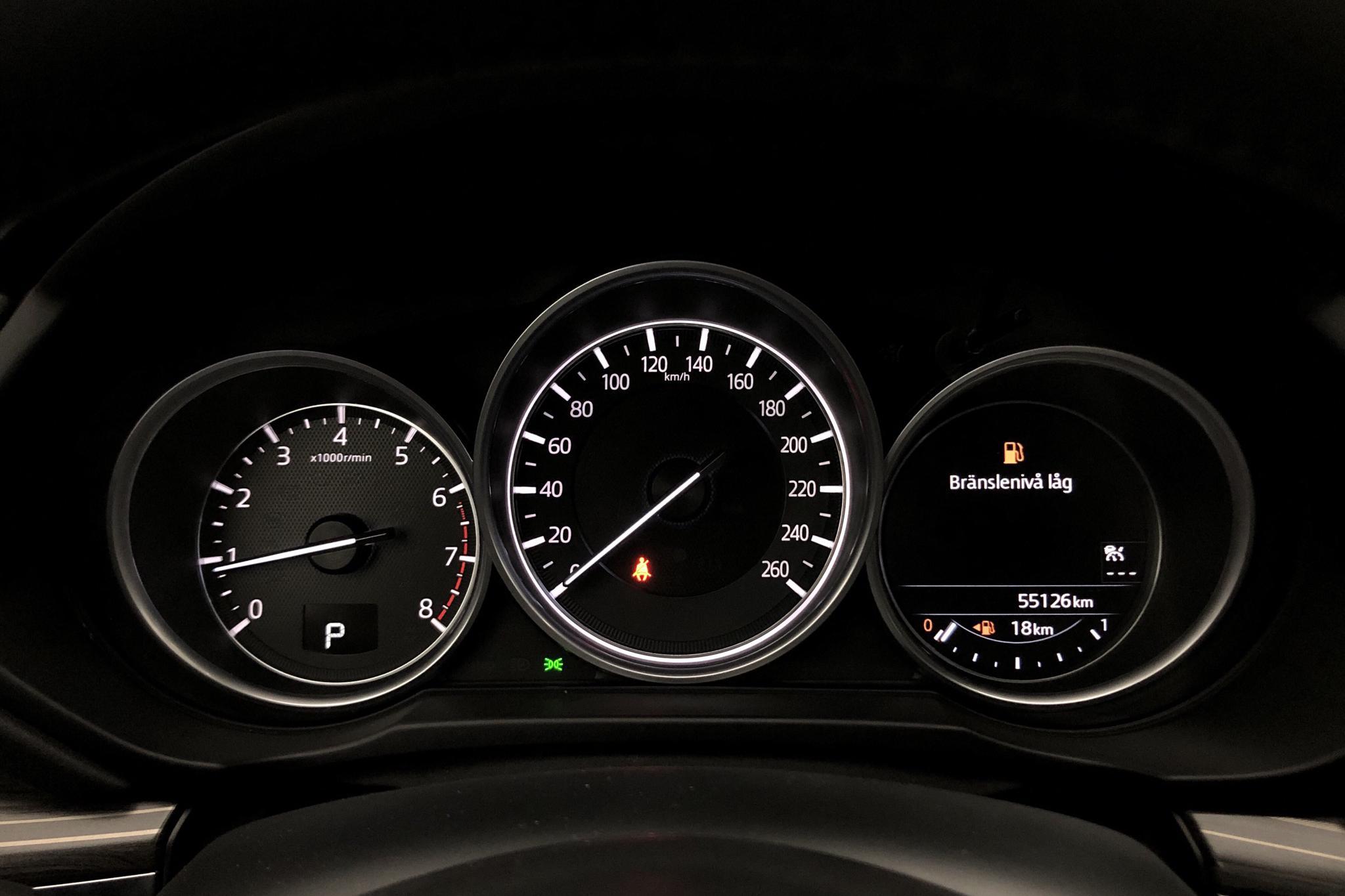 Mazda CX-5 2.5 AWD (194hk) - 5 512 mil - Automat - blå - 2018