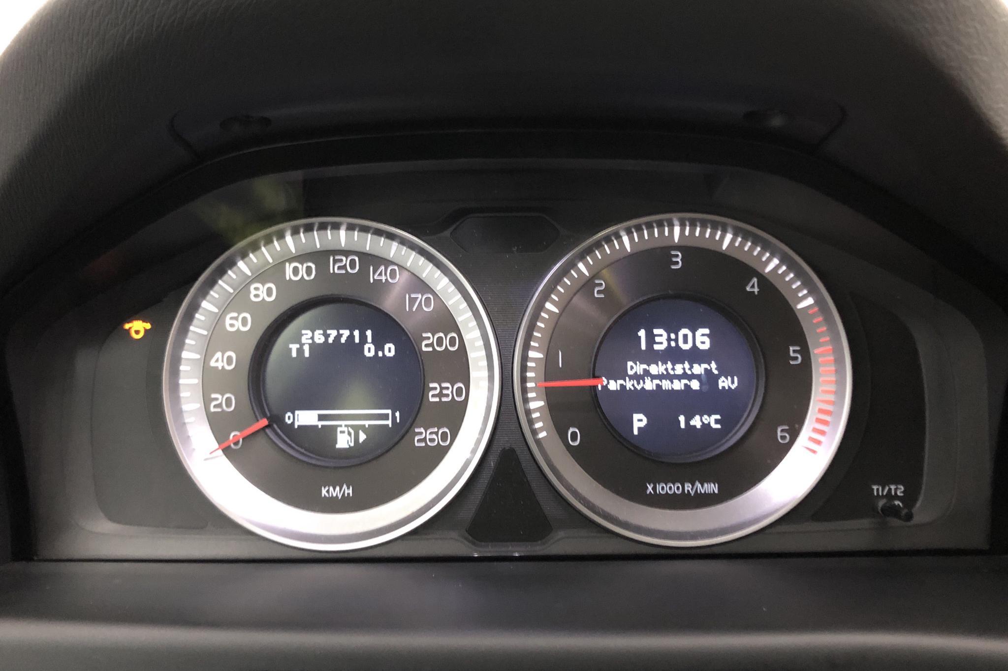 Volvo V70 II D3 (163hk) - 26 770 mil - Automat - Light Grey - 2012