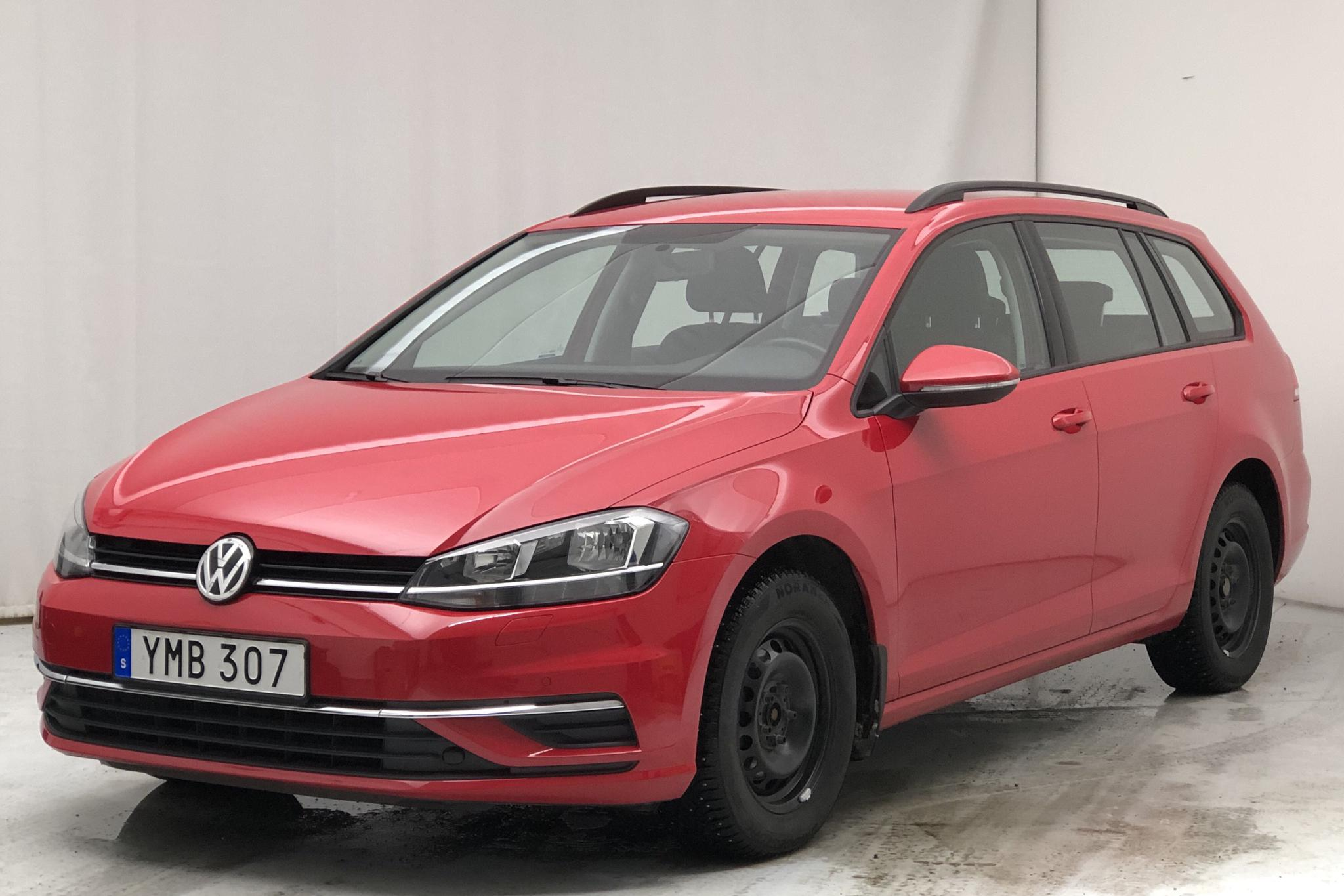 VW Golf VII 1.4 TSI Multifuel Sportscombi (125hk) - 31 200 km - Manual - red - 2017