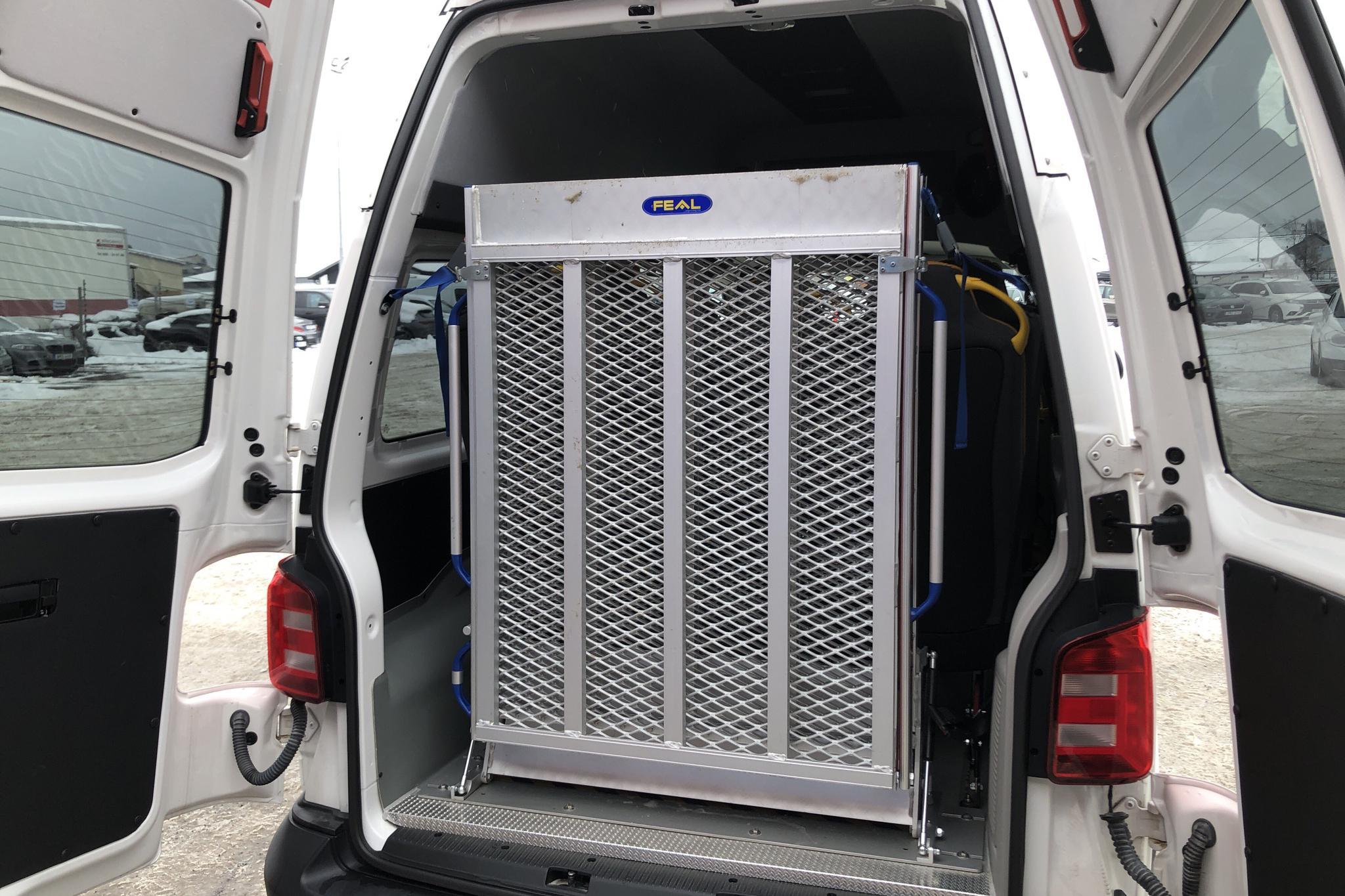 VW Transporter T6 2.0 TDI BMT (204hk) - 69 180 km - Automatic - white - 2016