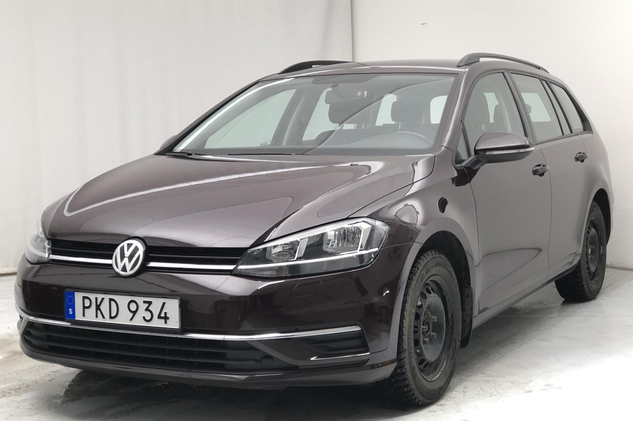 VW Golf VII 1.4 TSI Multifuel Sportscombi (125hk) - 31 950 km - Manual - black - 2017