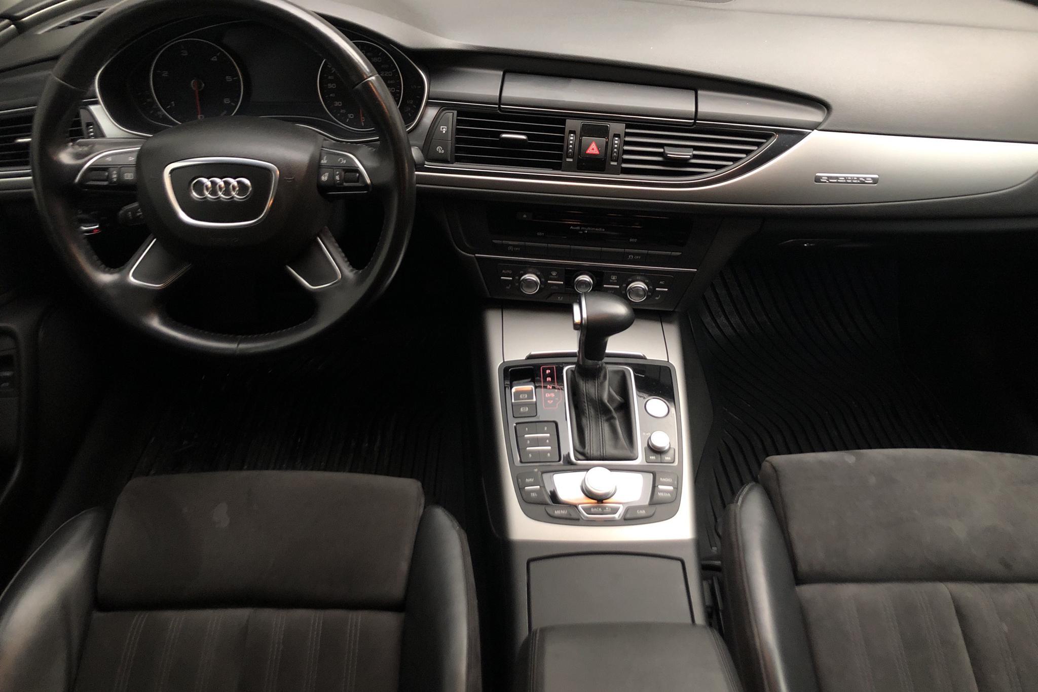 Audi A6 3.0 TDI Avant quattro (245hk) - 26 192 mil - Automat - grå - 2012