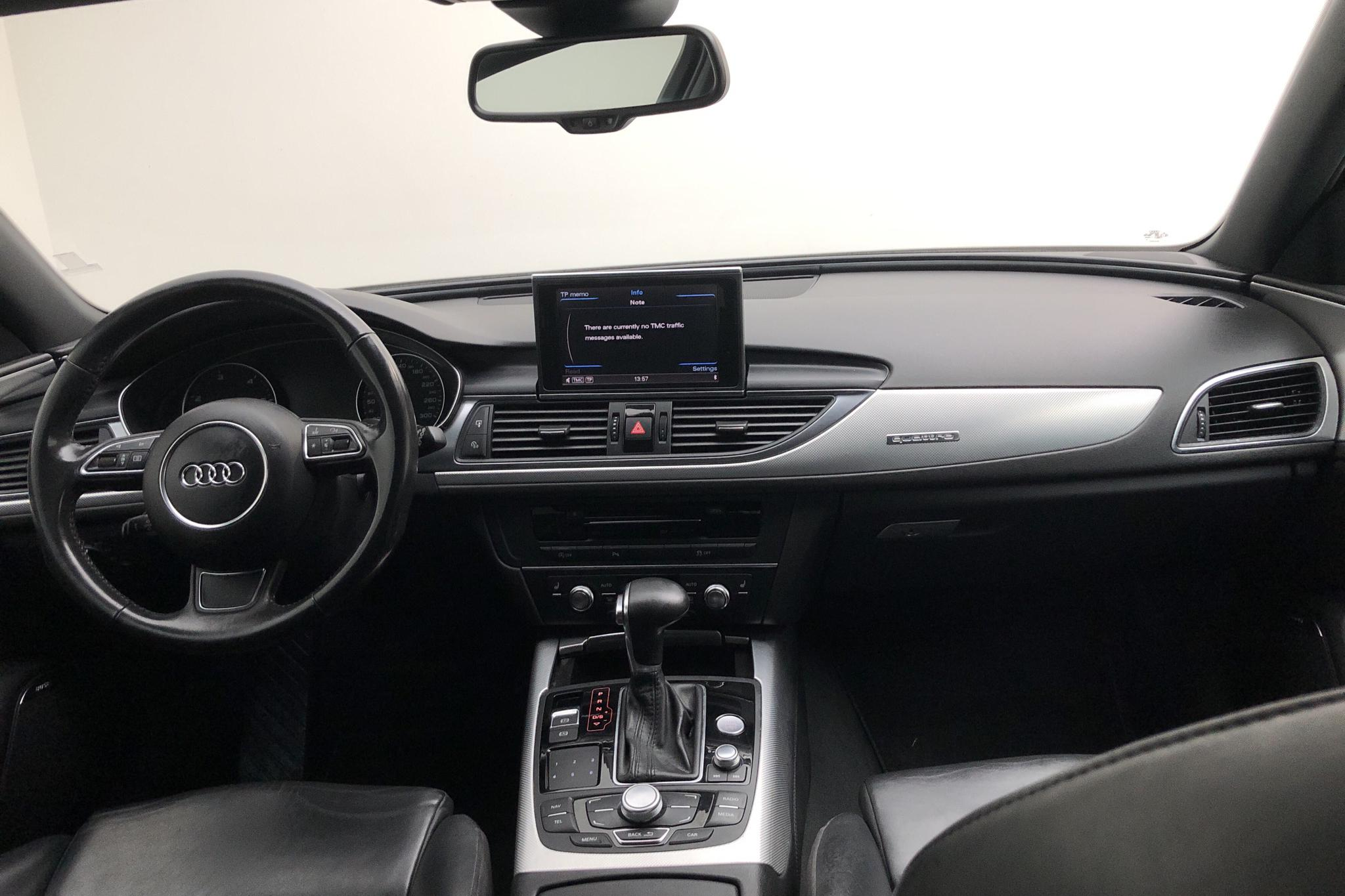 Audi A6 3.0 TDI Avant quattro (245hk) - 202 570 km - Automatic - white - 2012
