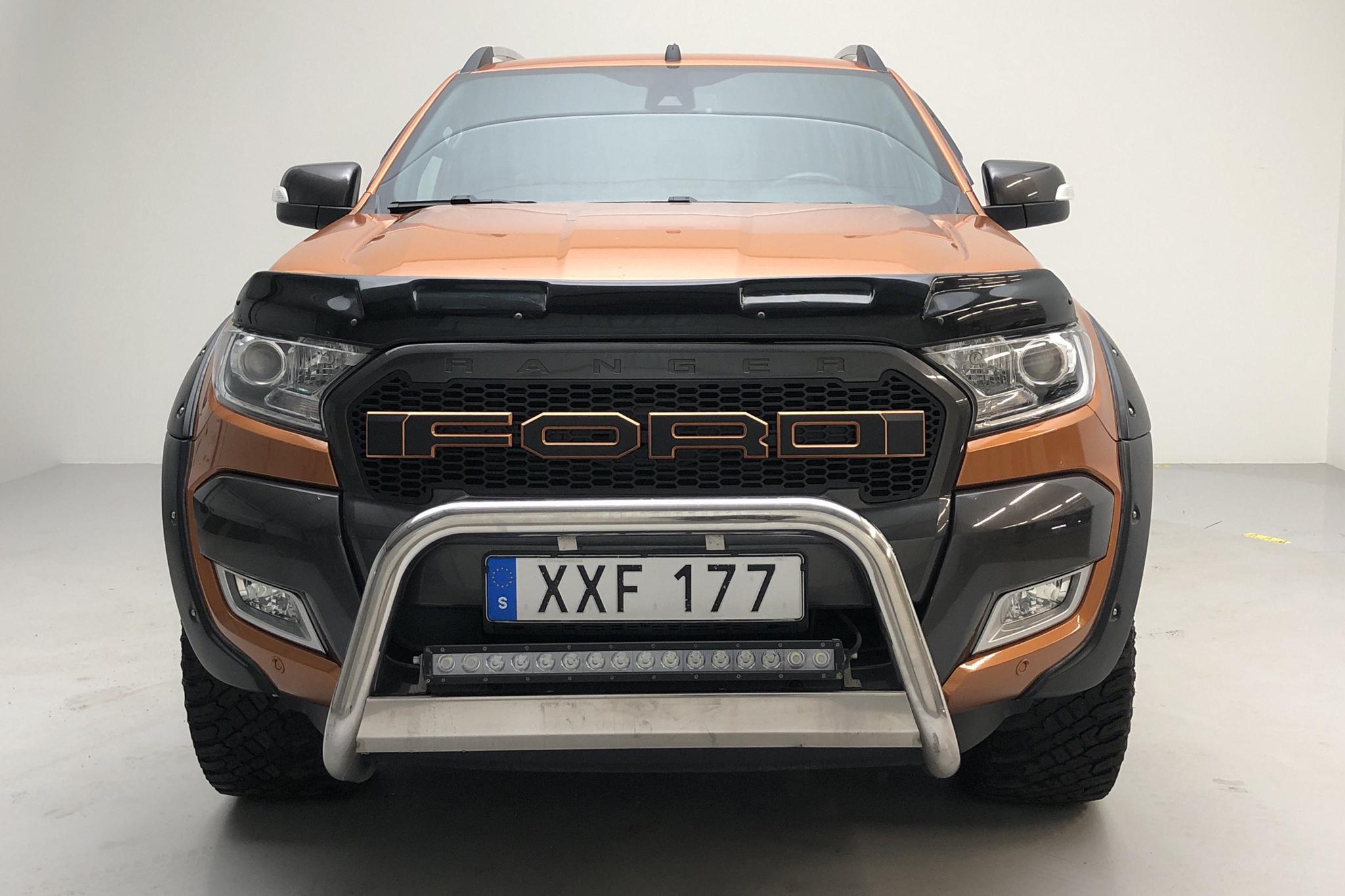 Ford Ranger 3.2 TDCi 4WD (200hk) - 12 849 mil - Automat - orange - 2017