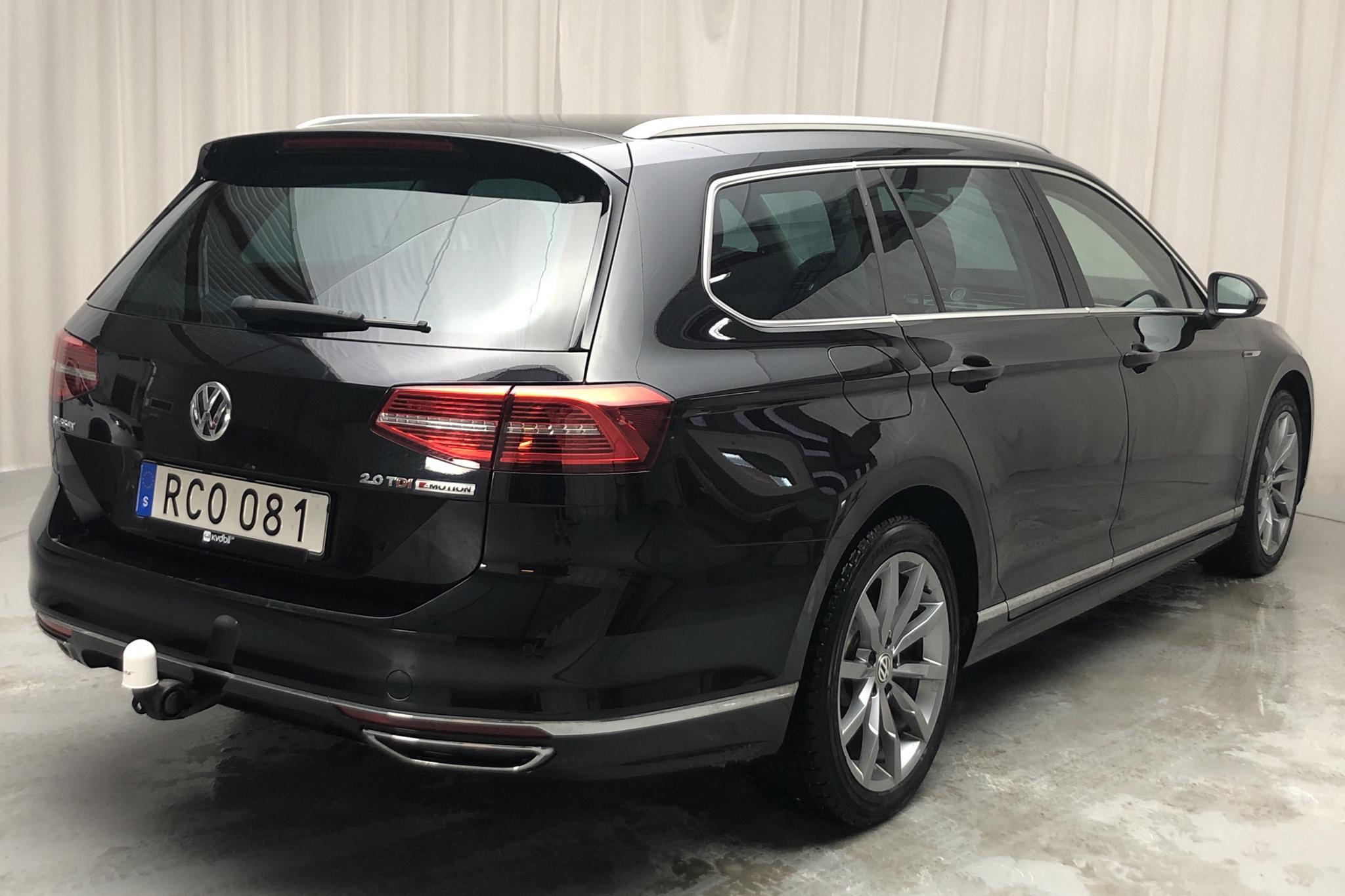 VW Passat 2.0 TDI Sportscombi 4MOTION (190hk) - 74 760 km - Automatic - black - 2017