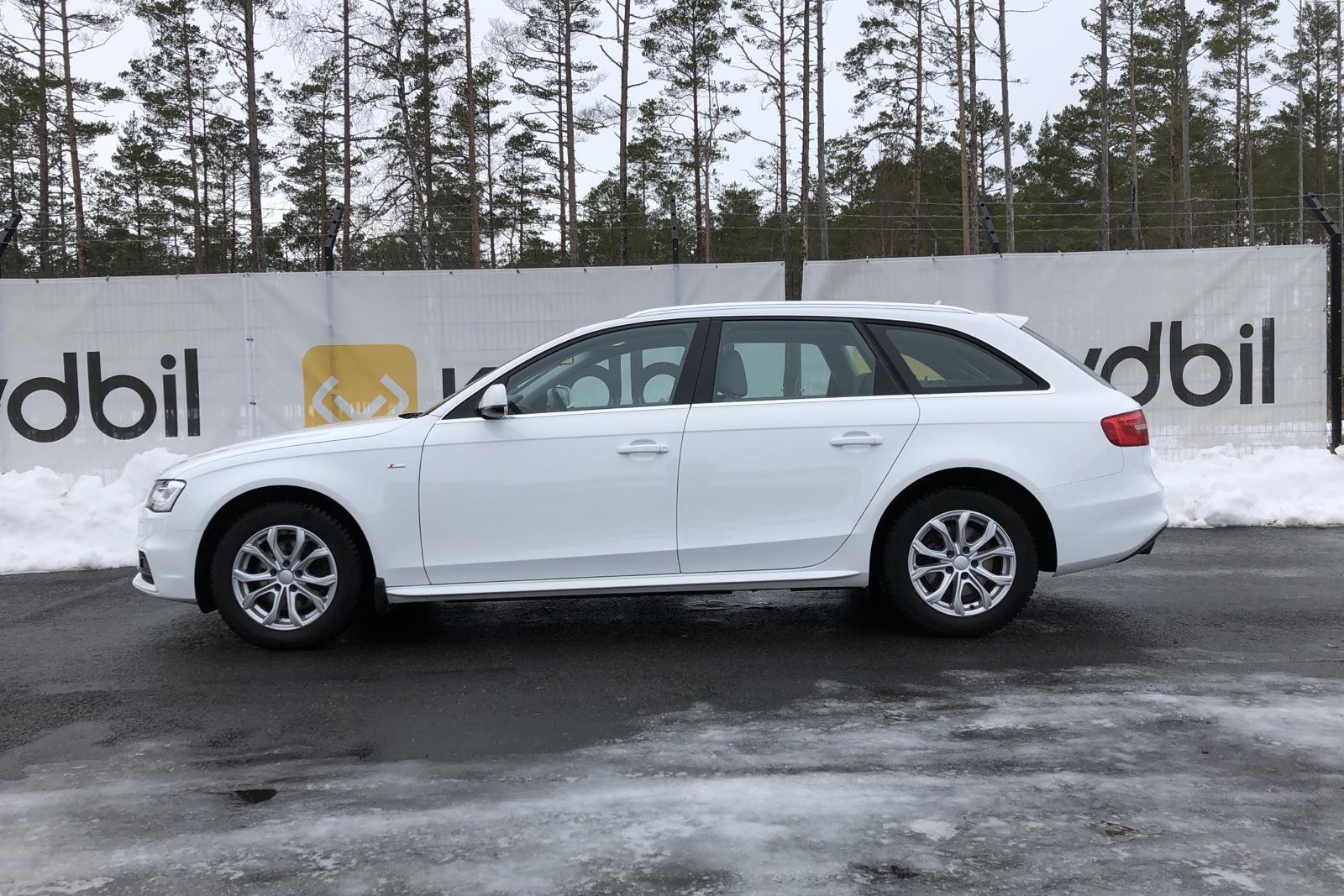 Audi A4 2.0 TDI clean diesel Avant (150hk) - 121 960 km - Automatic - white - 2015