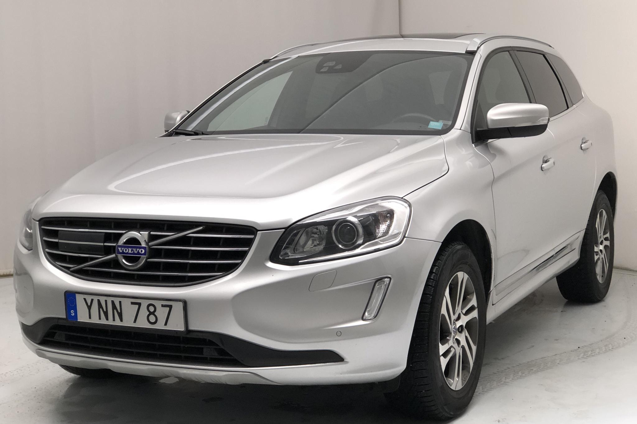 Volvo XC60 D4 AWD (190hk) - 12 040 mil - Automat - silver - 2017