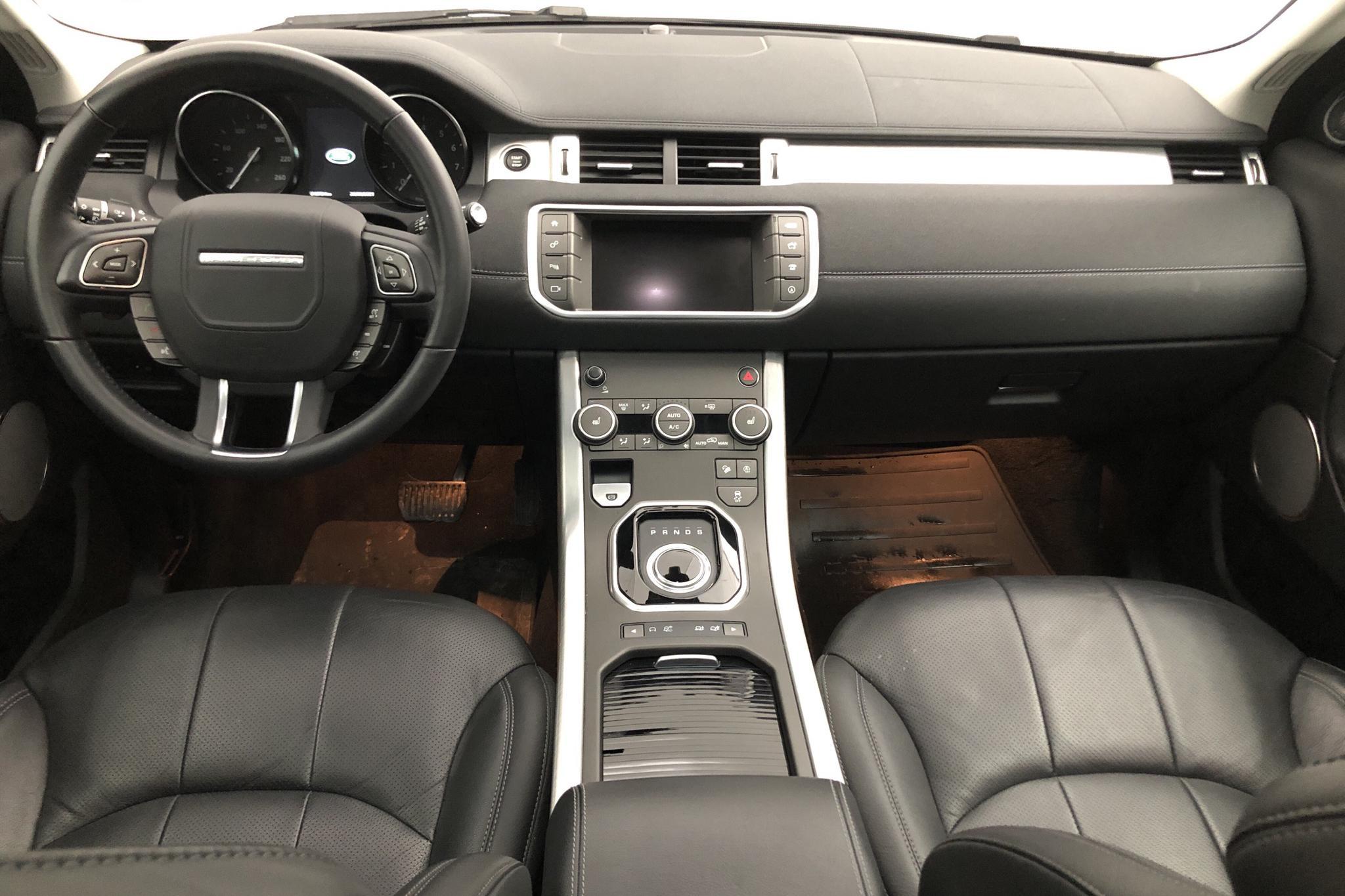 Land Rover Range Rover Evoque 2.0 SI4 AWD 5dr (240hk) - 1 372 mil - Automat - svart - 2018