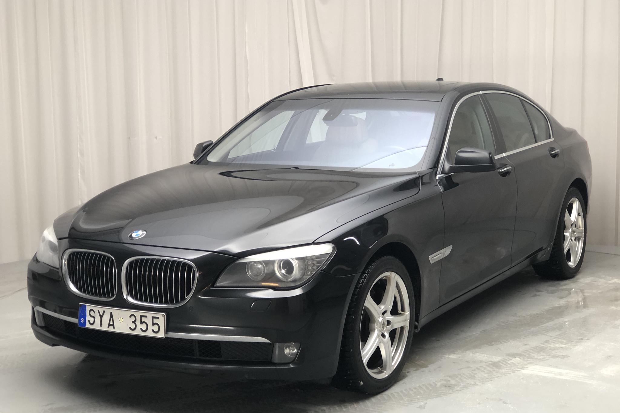 BMW 730d Sedan, F01 (245hk) - 22 661 mil - Automat - svart - 2009