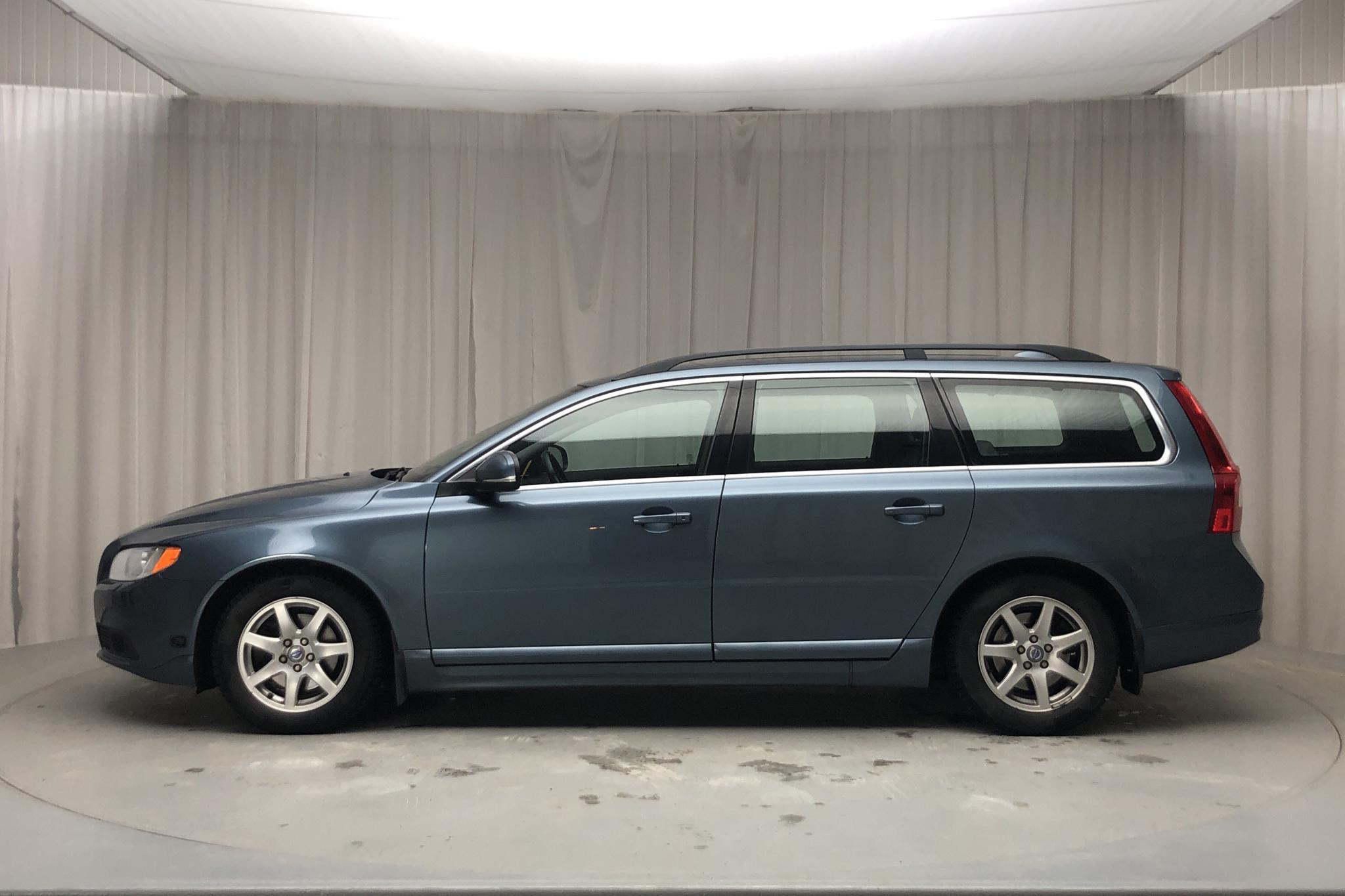 Volvo V70 II D2 (115hk) - 17 535 mil - Manuell - blå - 2013