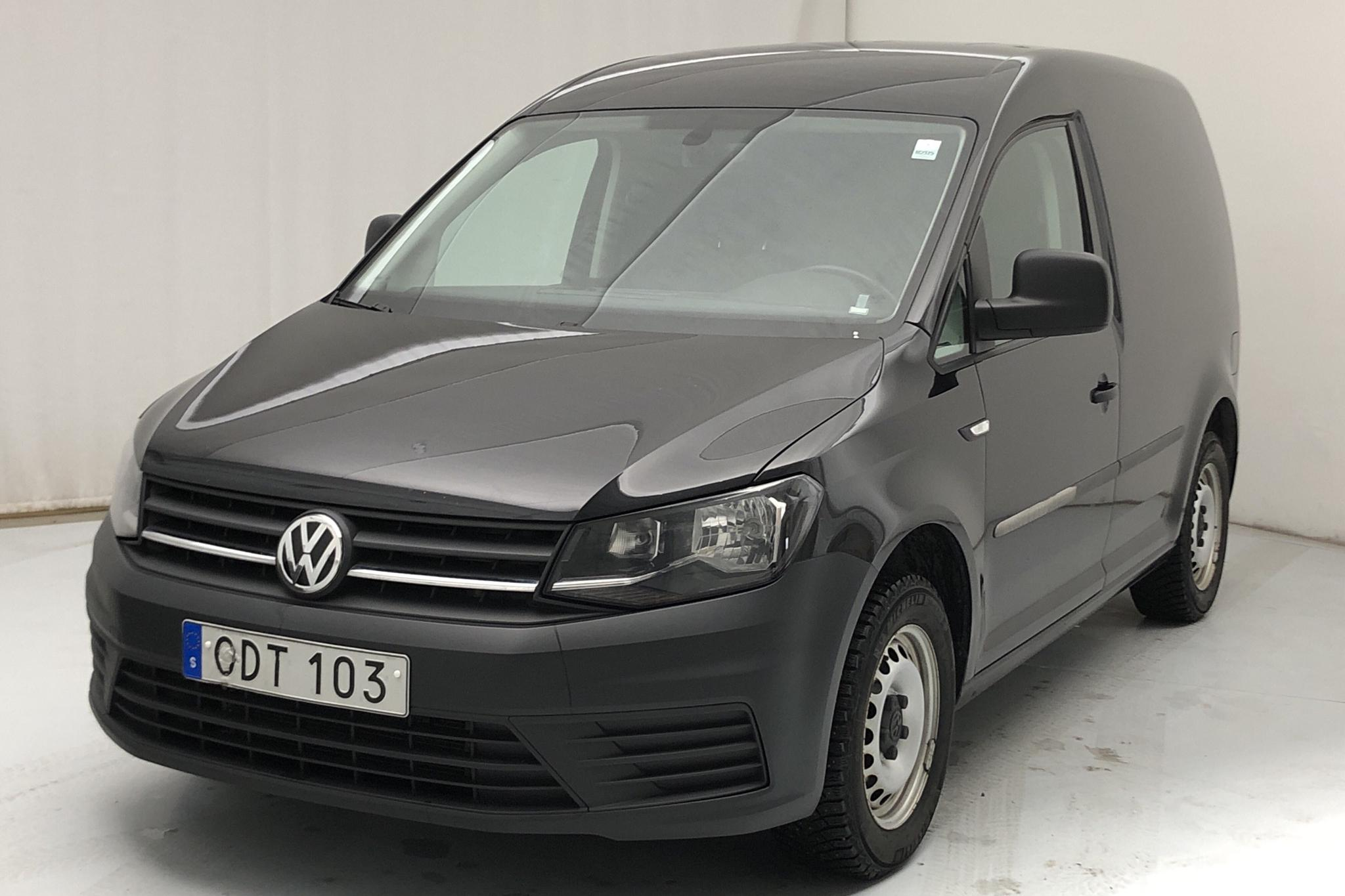VW Caddy 2.0 TDI Skåp (75hk) - 131 730 km - Manual - black - 2017