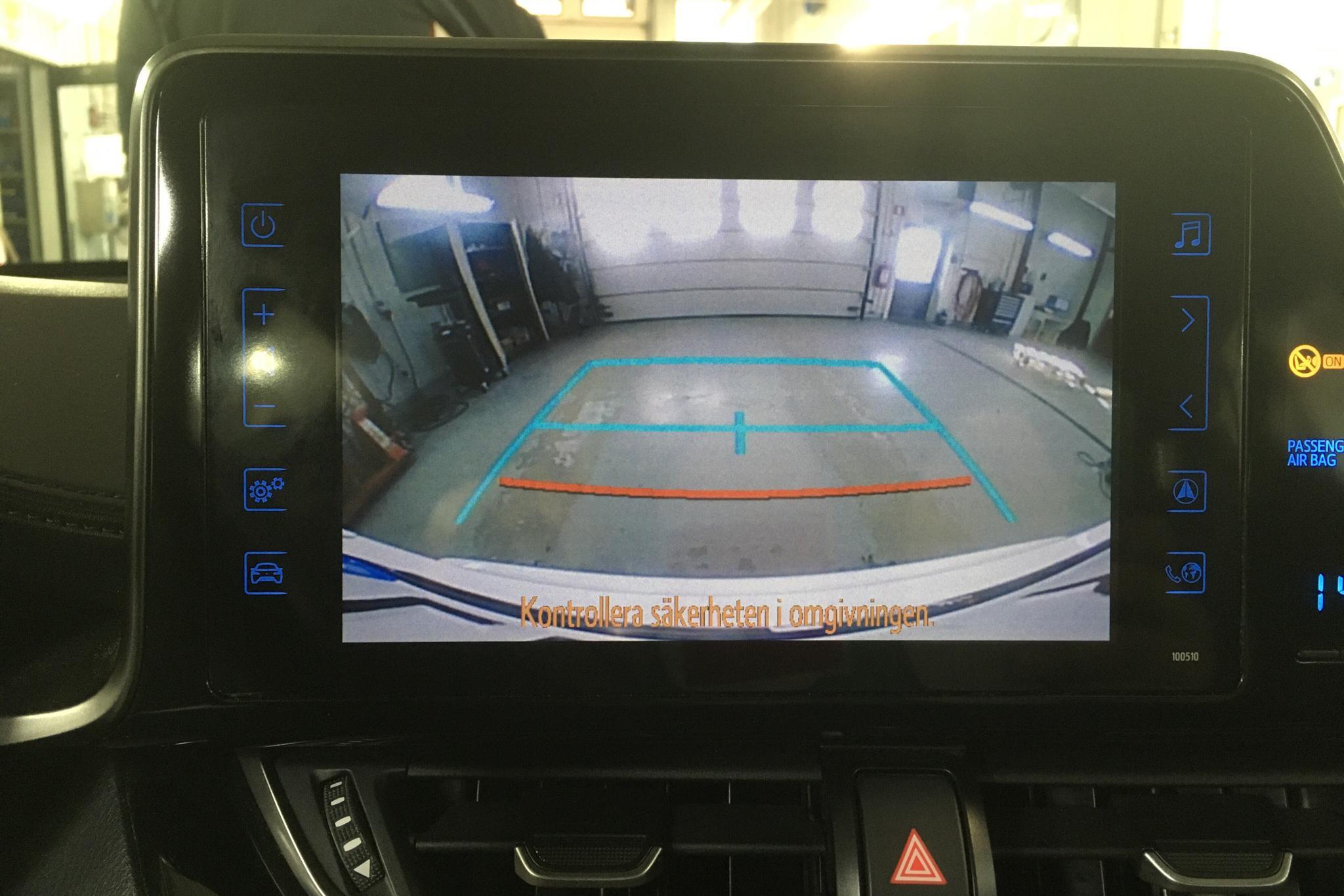 Toyota C-HR 1.8 HSD (122hk) - 11 047 mil - Automat - vit - 2018