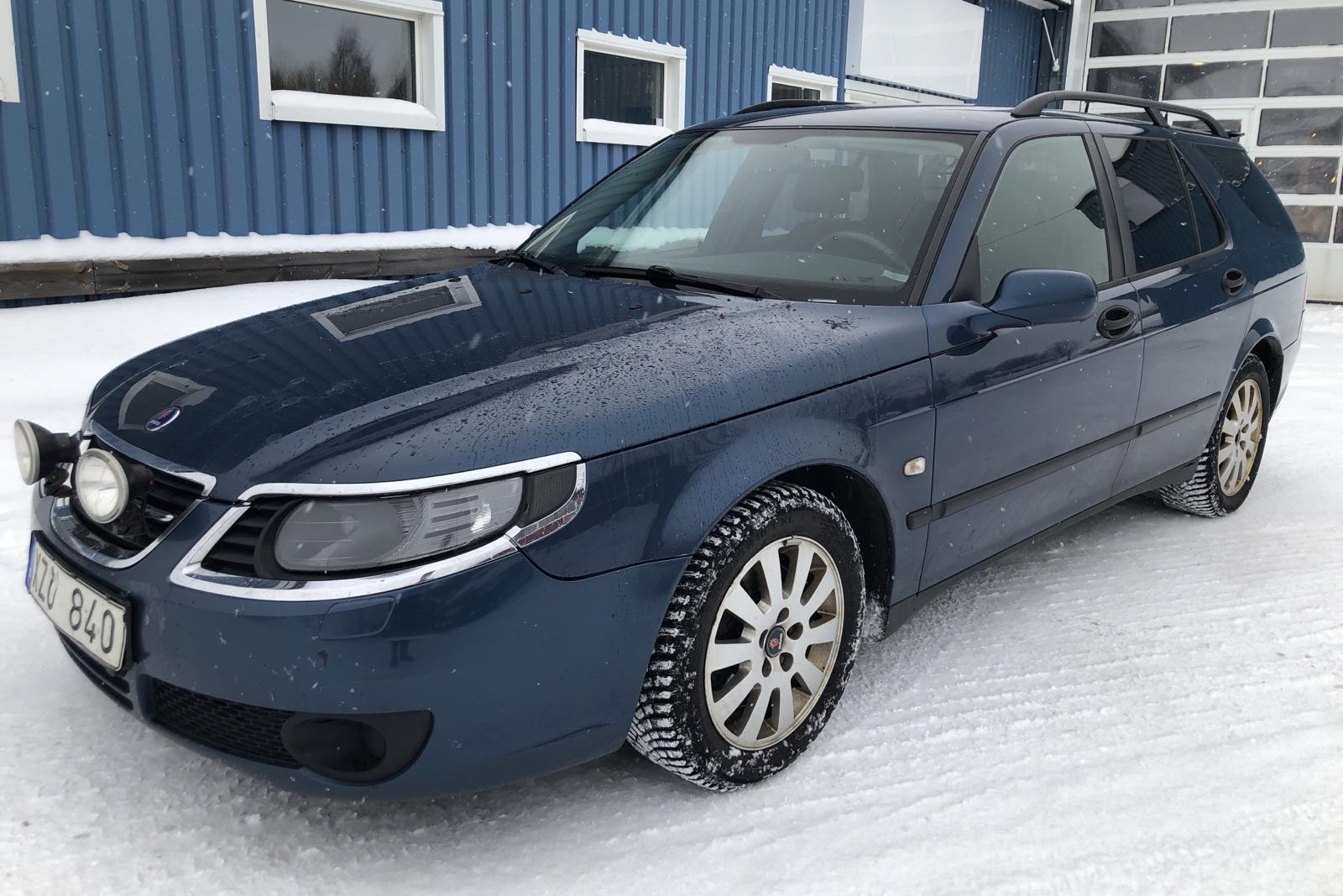 Saab 9-5 1.9 TiD SportCombi (150hk) - 29 430 mil - Automat - blå - 2007