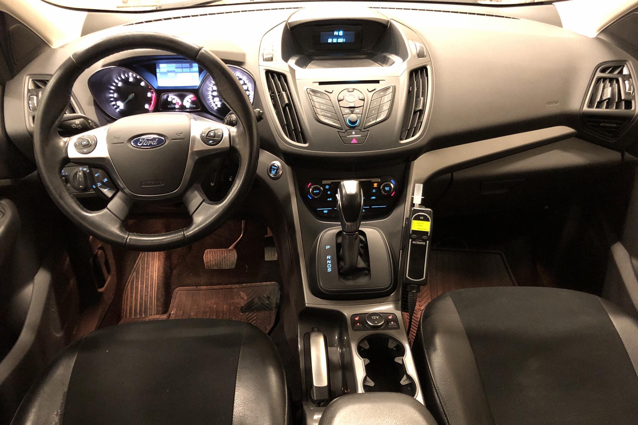 Ford Kuga 2.0 TDCi AWD (150hk) - 78 710 km - Automatic - white - 2015