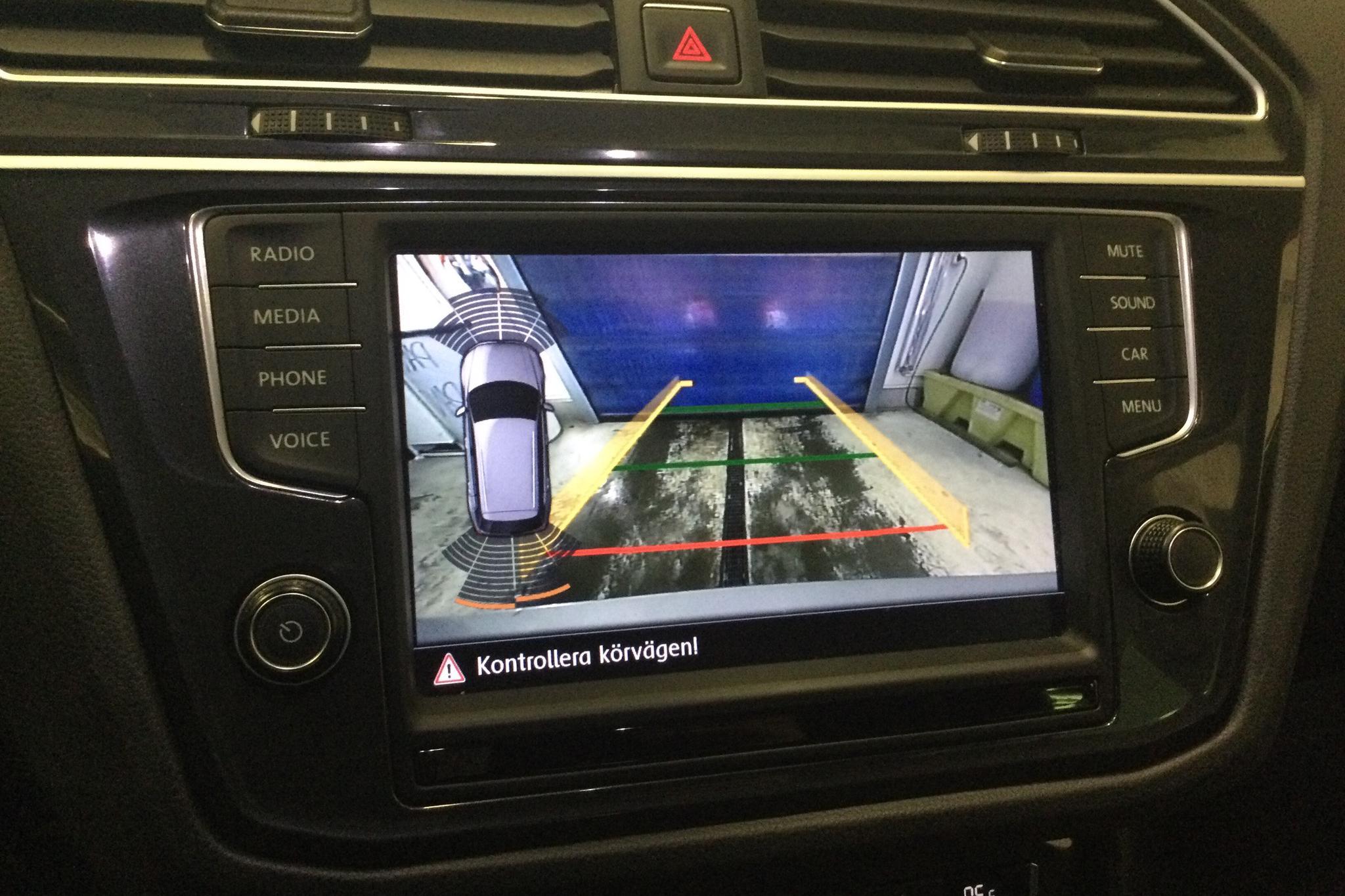 VW Tiguan 2.0 TDI 4MOTION (190hk) - 5 150 mil - Automat - silver - 2017