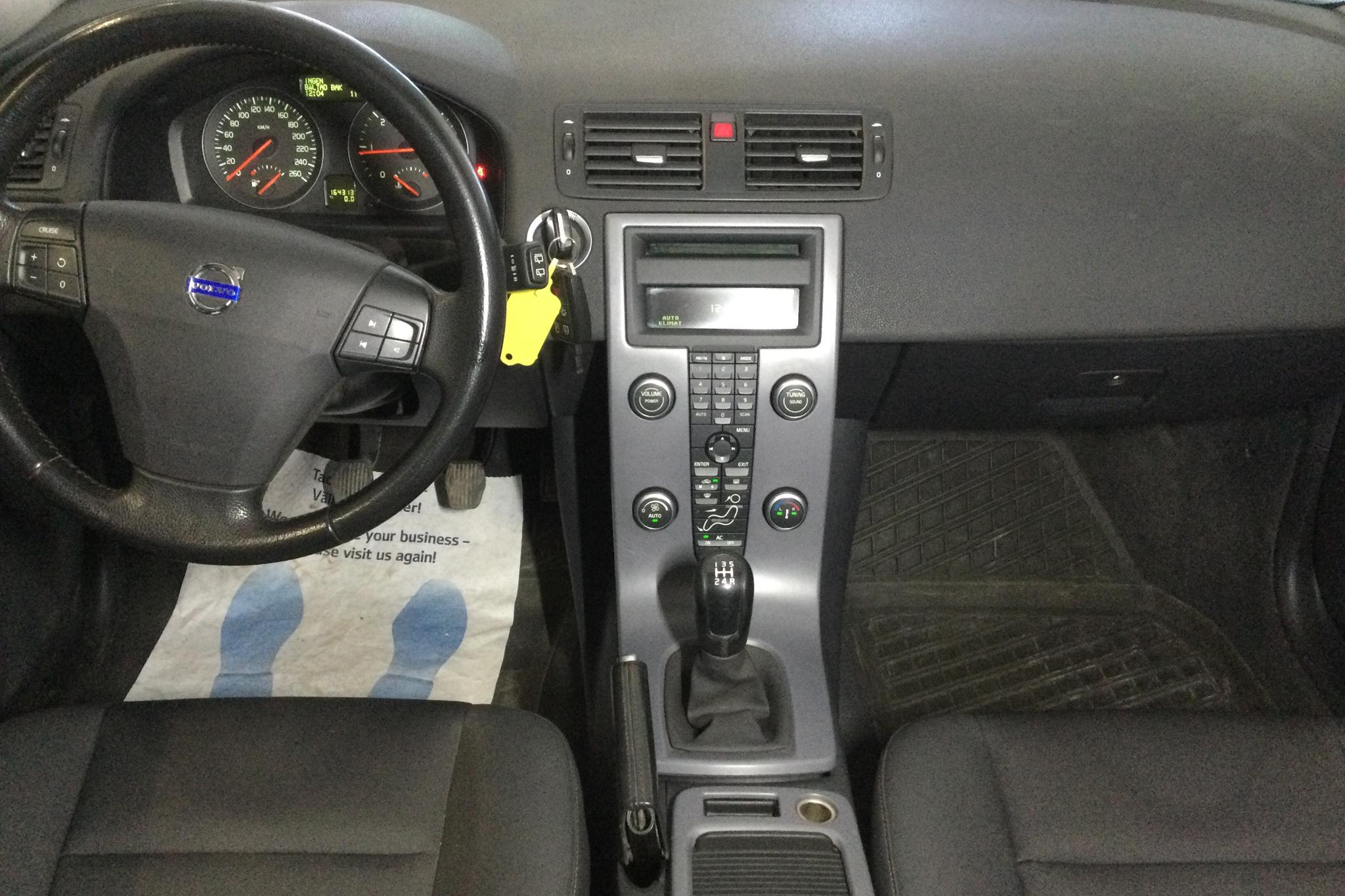 Volvo V50 1.6D (109hk) - 164 310 km - Manual - white - 2008