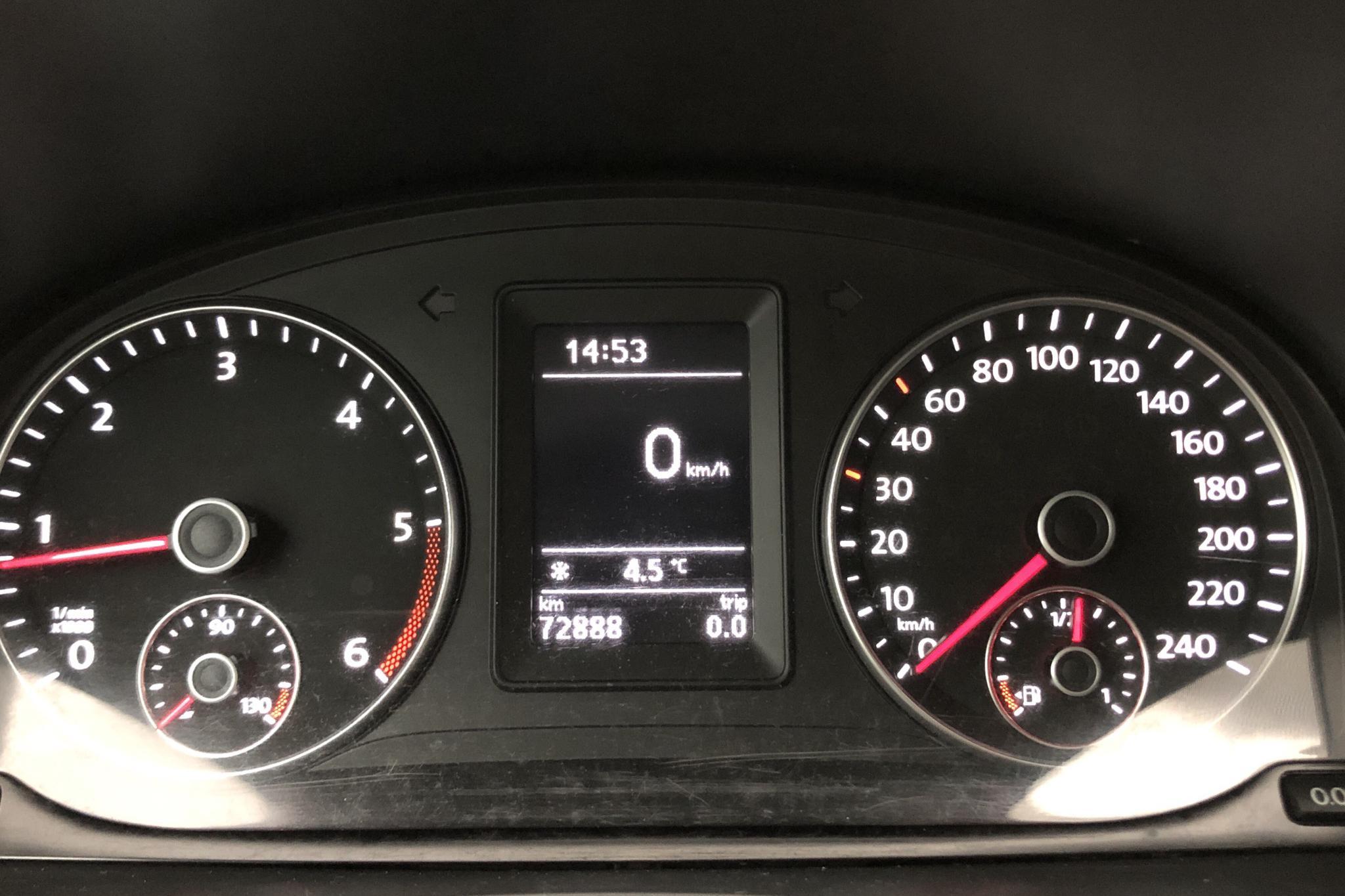 VW Caddy 1.6 TDI Maxi Skåp (102hk) - 72 880 km - Manual - yellow - 2016