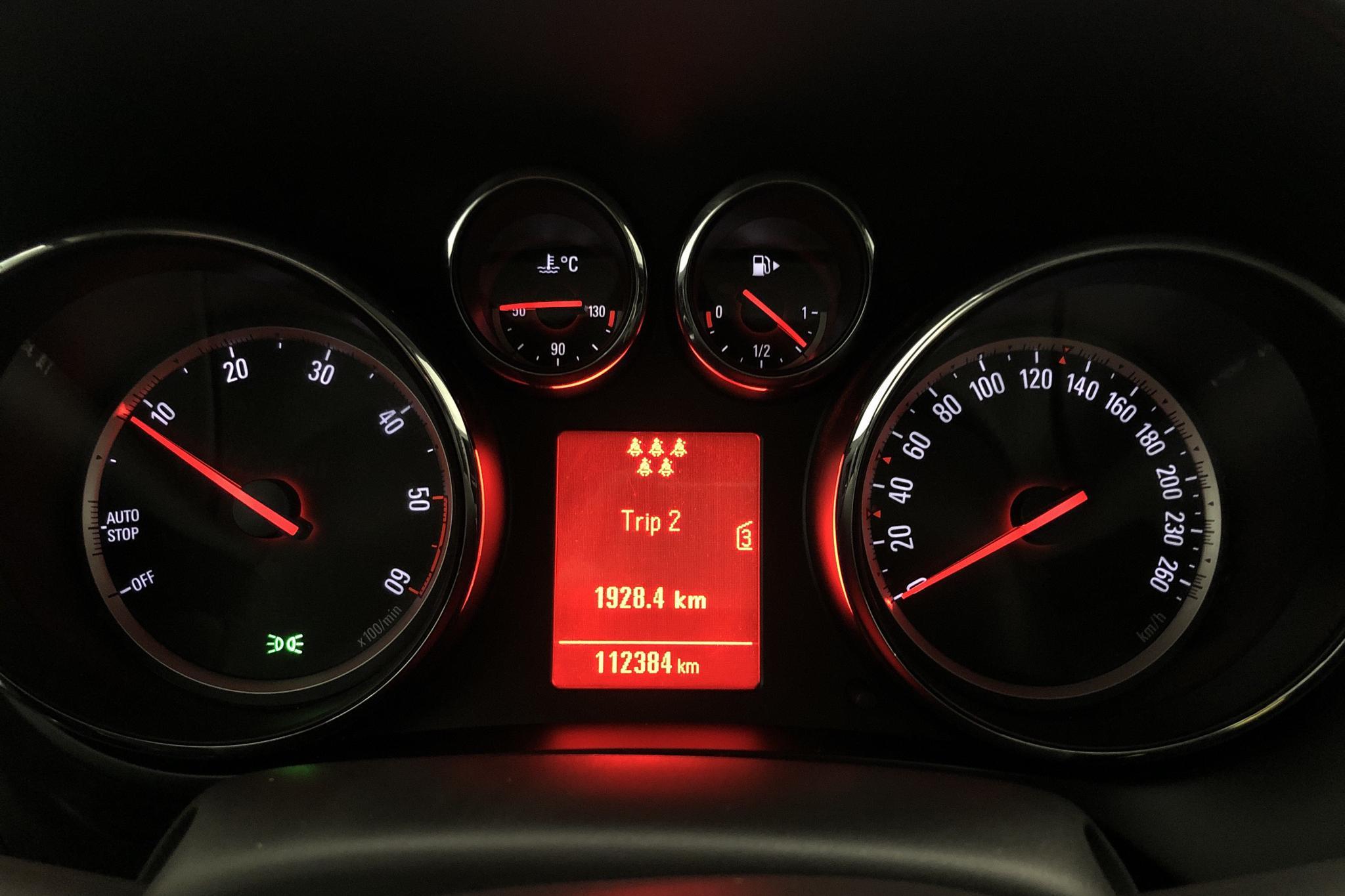 Opel Zafira Tourer 2.0 CDTI ecoFLEX (130hk) - 11 238 mil - Manuell - 2012