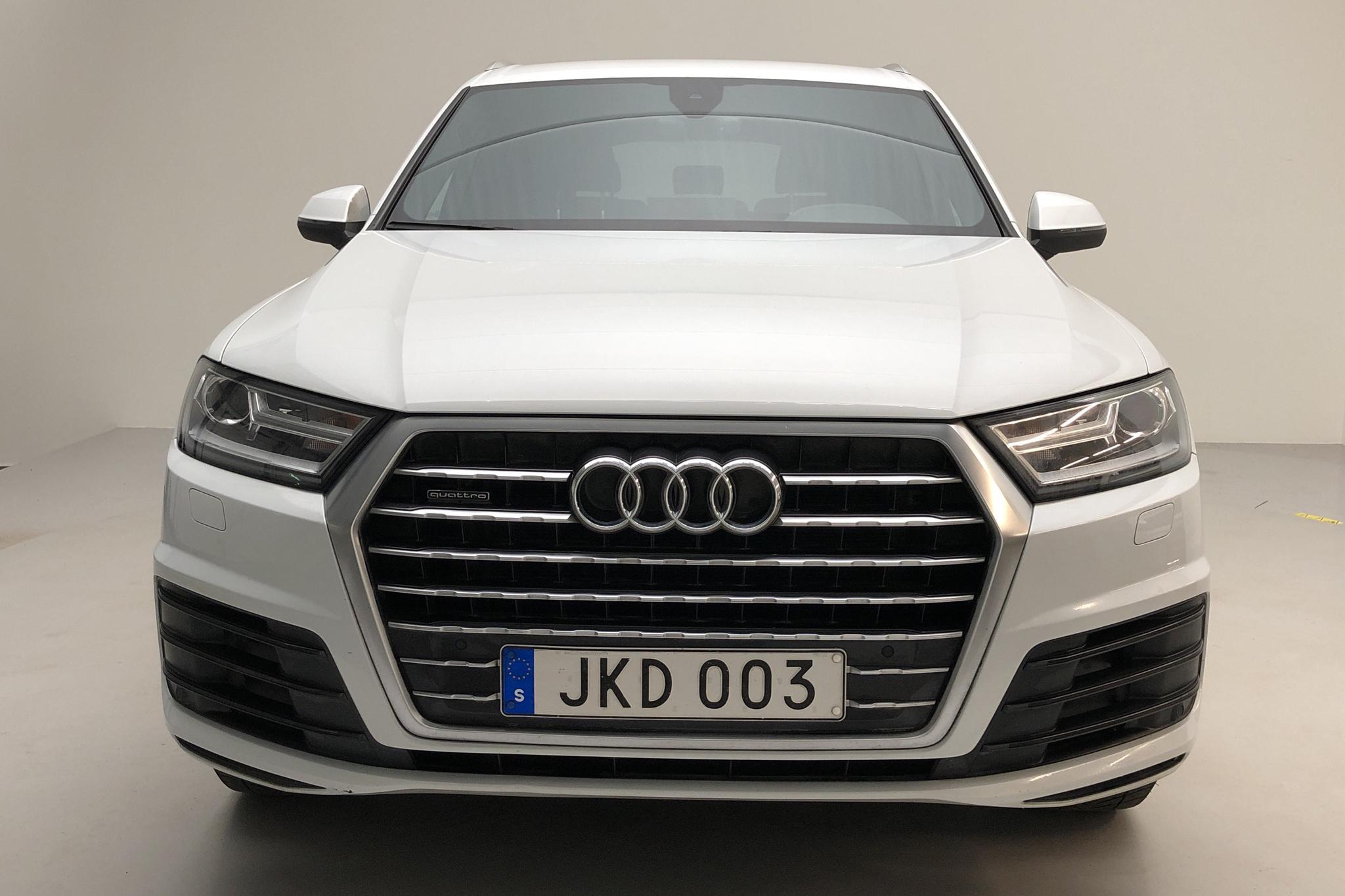 Audi Q7 3.0 TDI quattro (272hk) - 99 120 km - Automatic - white - 2016