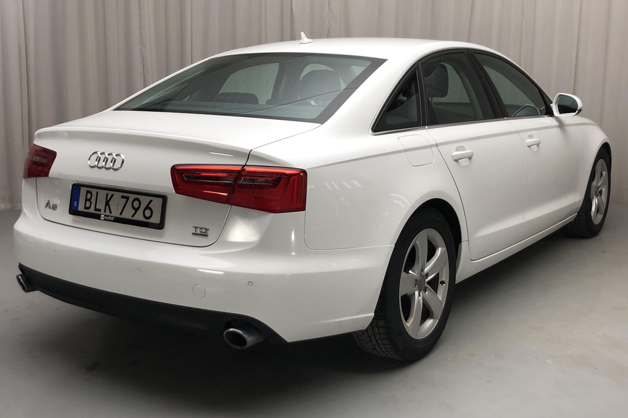 Audi A6 3.0 TDI quattro (204hk) - 128 590 km - Automatic - white - 2014