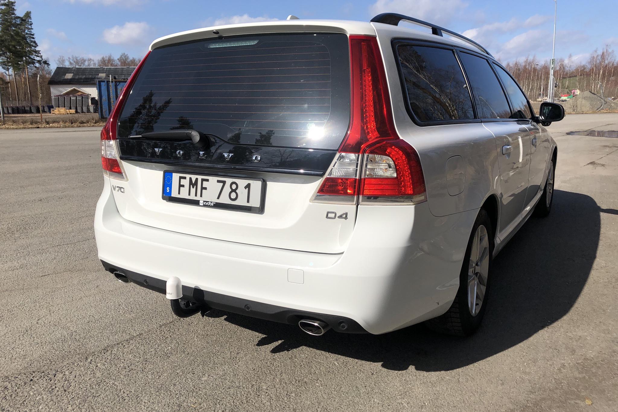 Volvo V70 II D4 (181hk) - 90 060 km - Manual - white - 2015