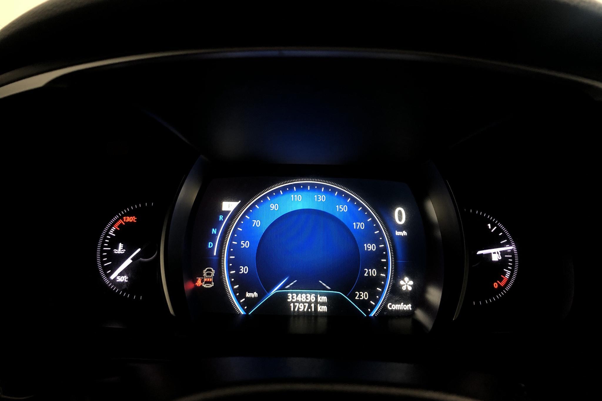 Renault Talisman 1.5 dCi Kombi (110hk) - 33 483 mil - Automat - vit - 2017