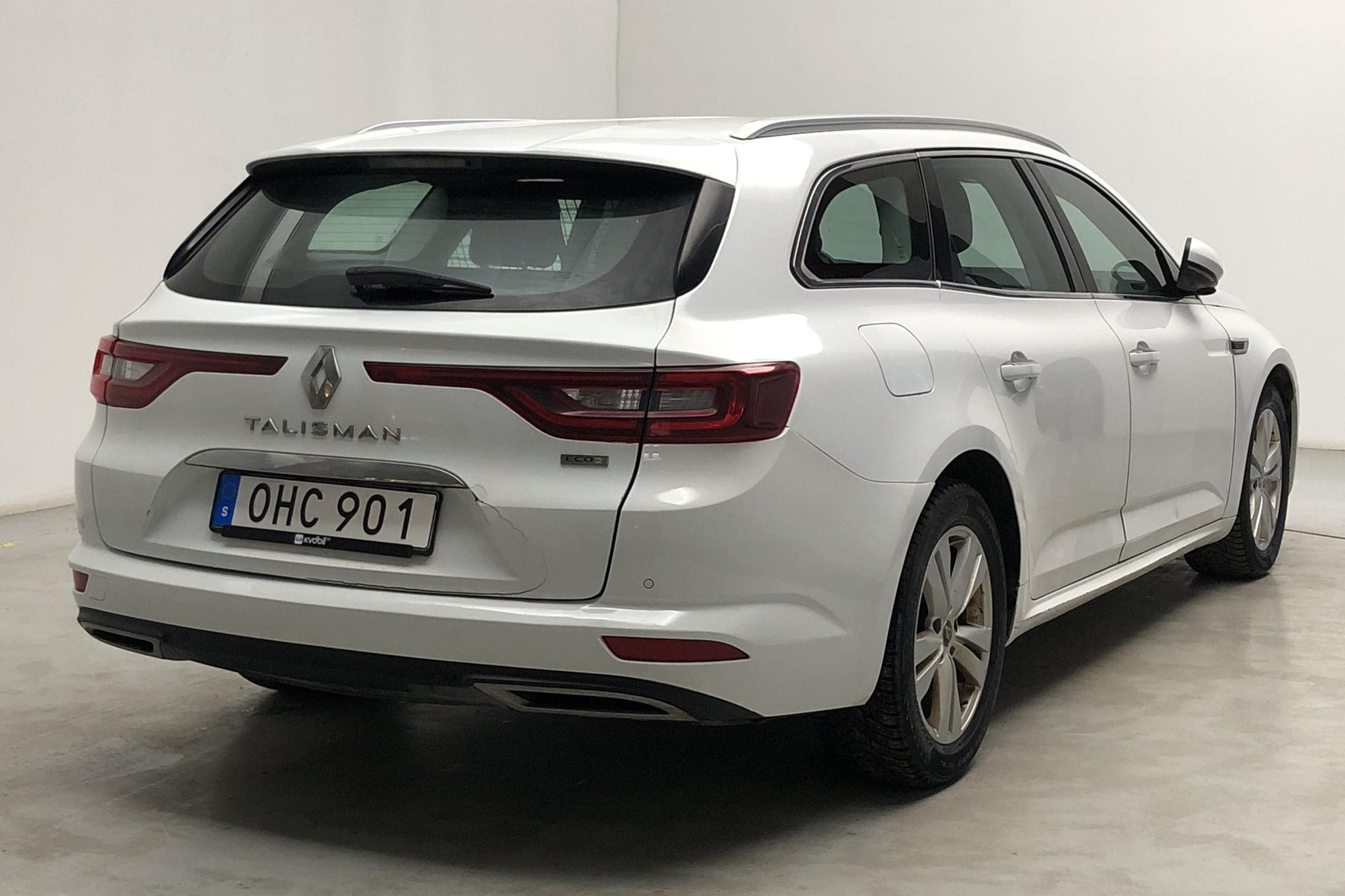 Renault Talisman 1.5 dCi Kombi (110hk) - 39 116 mil - Automat - vit - 2017