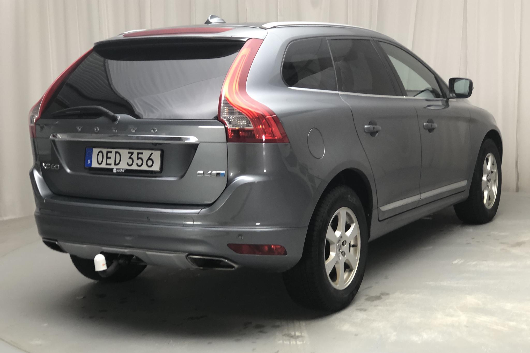 Volvo XC60 D4 AWD (190hk) - 131 740 km - Automatic - gray - 2017