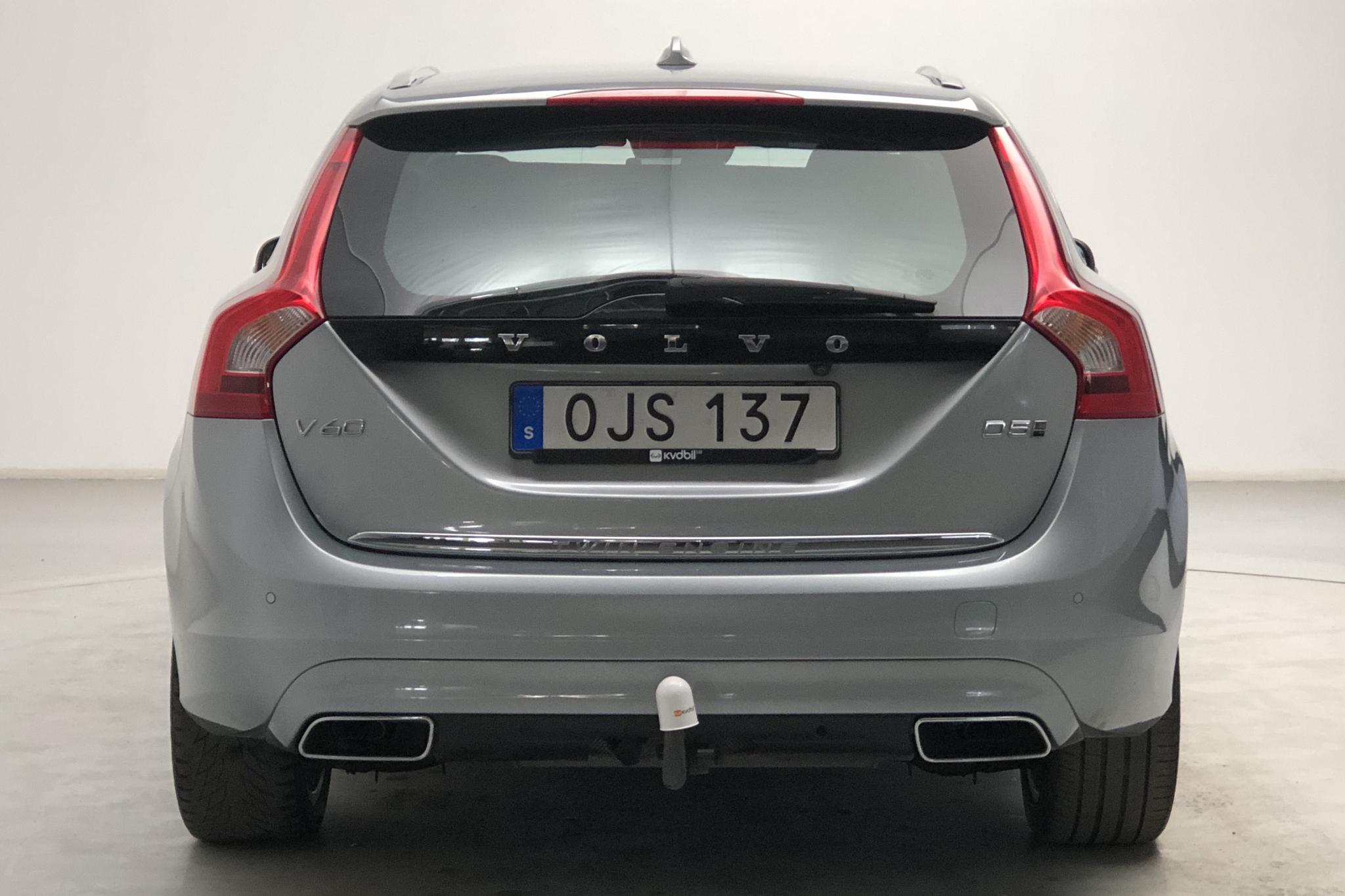 Volvo V60 D5 AWD Twin Engine (163hk) - 11 079 mil - Automat - silver - 2017