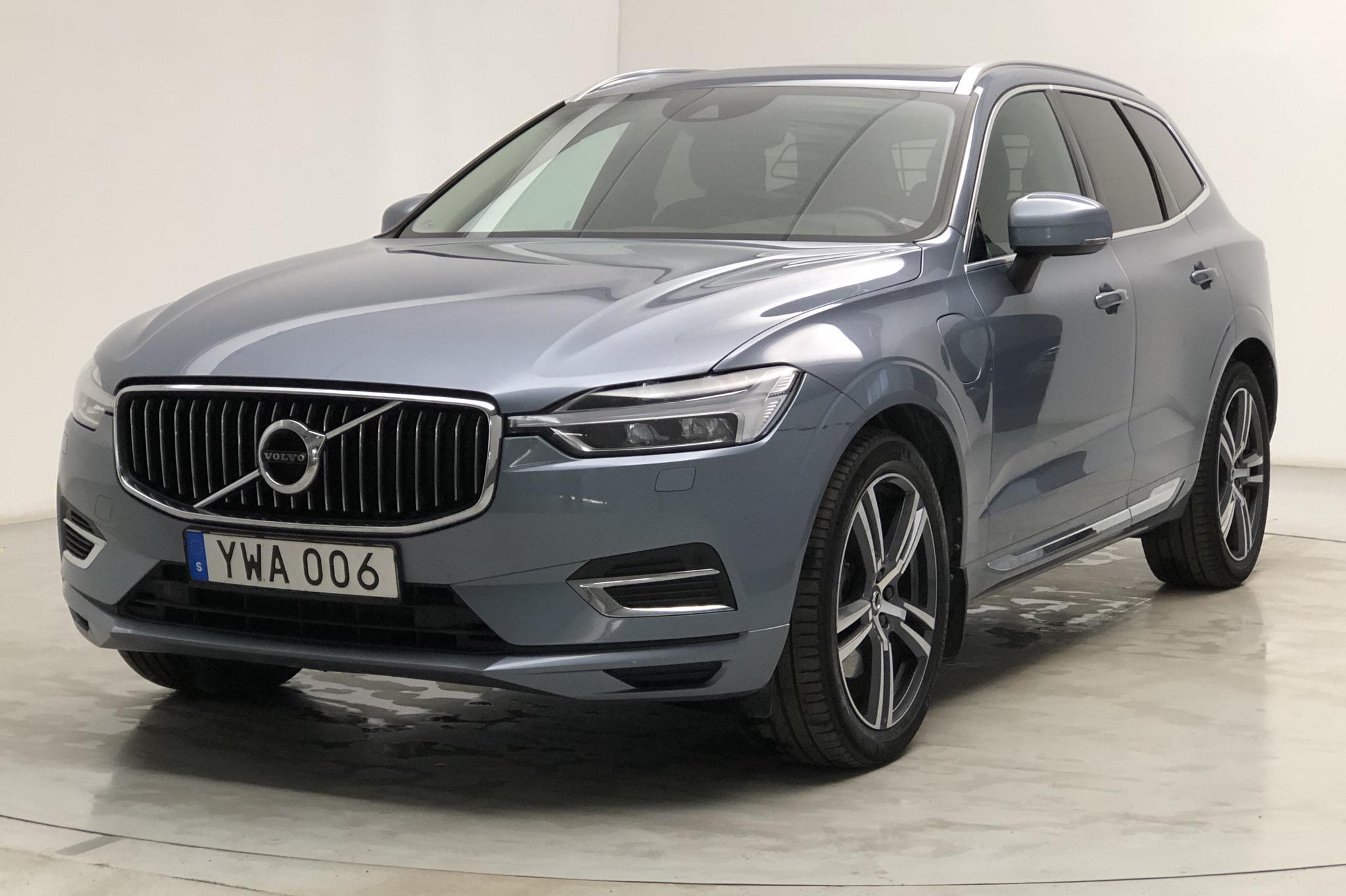Volvo XC60 T8 AWD Twin Engine (407hk) - 8 332 mil - Automat - Light Blue - 2018