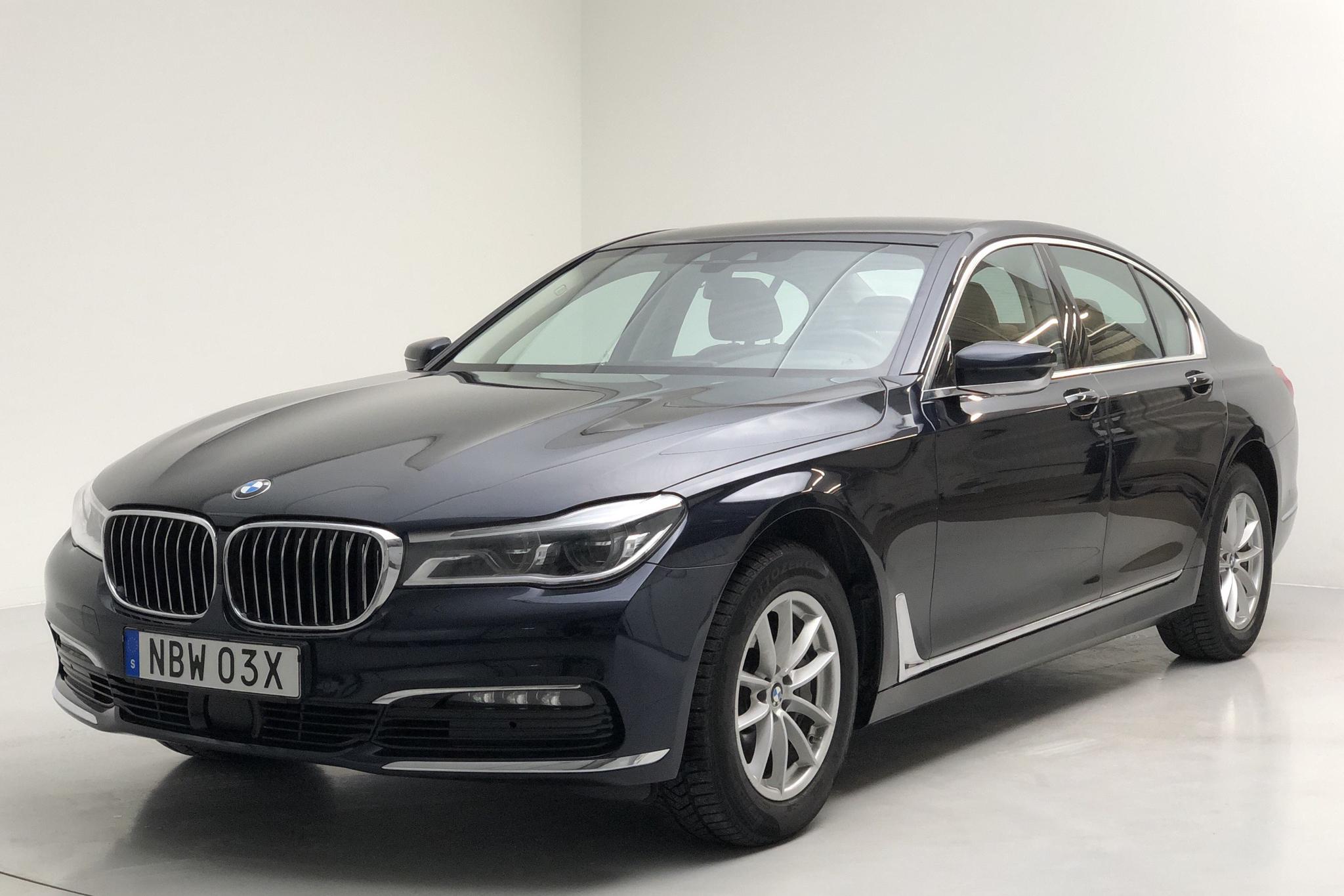 BMW 730d xDrive Sedan, G11 (265hk) - 74 530 km - Automatic - Dark Blue - 2018