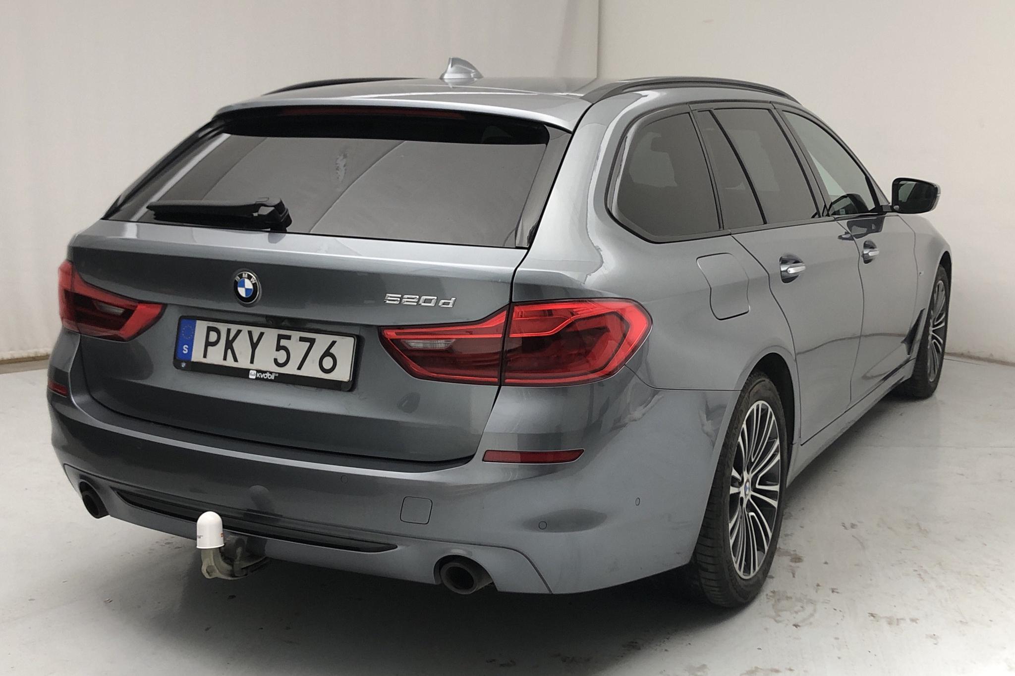 BMW 520d Touring, G31 (190hk) - 9 993 mil - Automat - blå - 2018