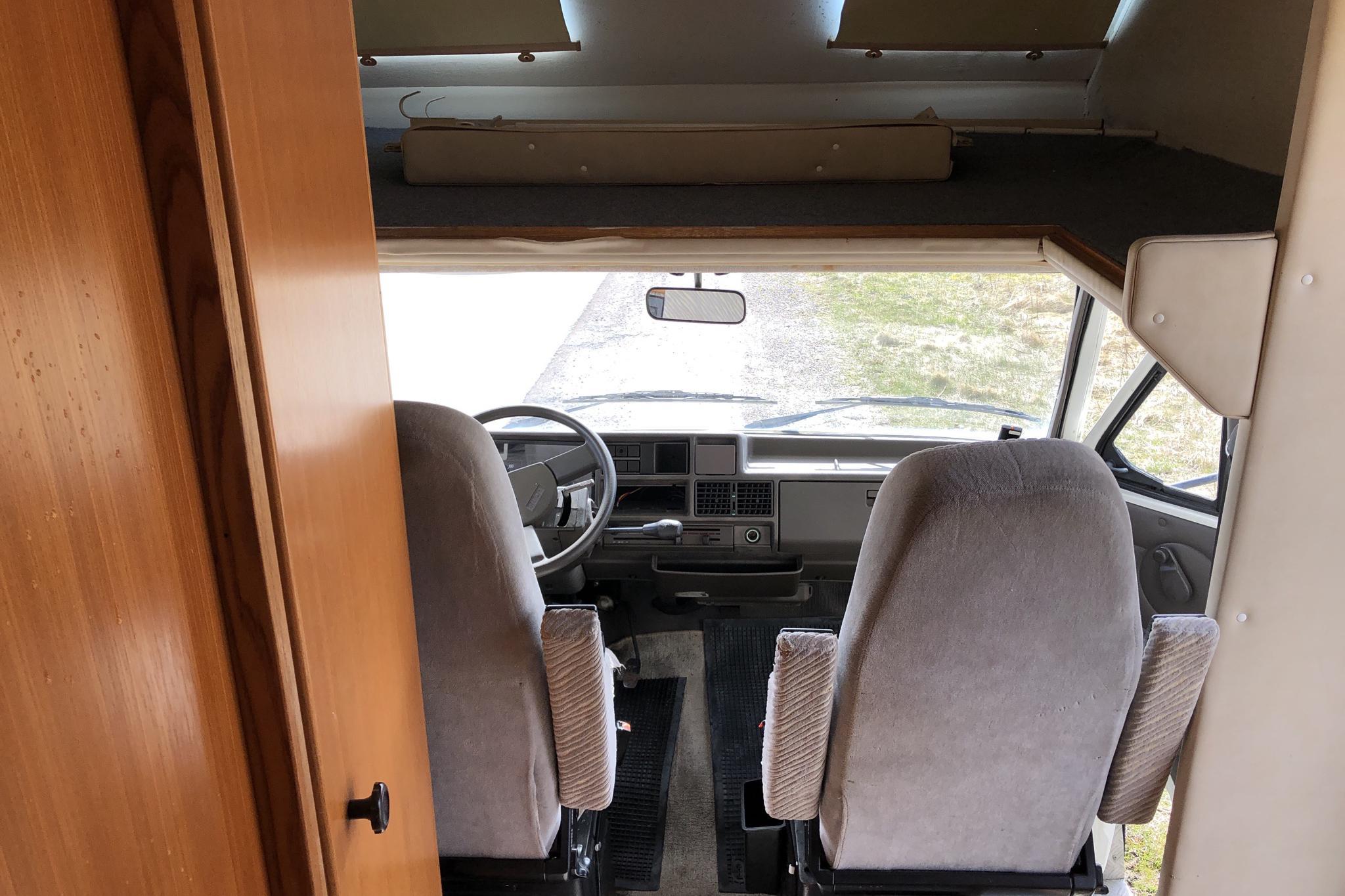 FIAT HOBBY 550 Husbil - 17 441 mil - Manuell - 1988