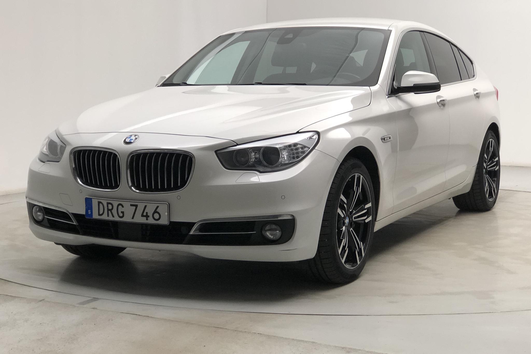 BMW 520d GT, F07 (184hk) - 18 396 mil - Automat - vit - 2015