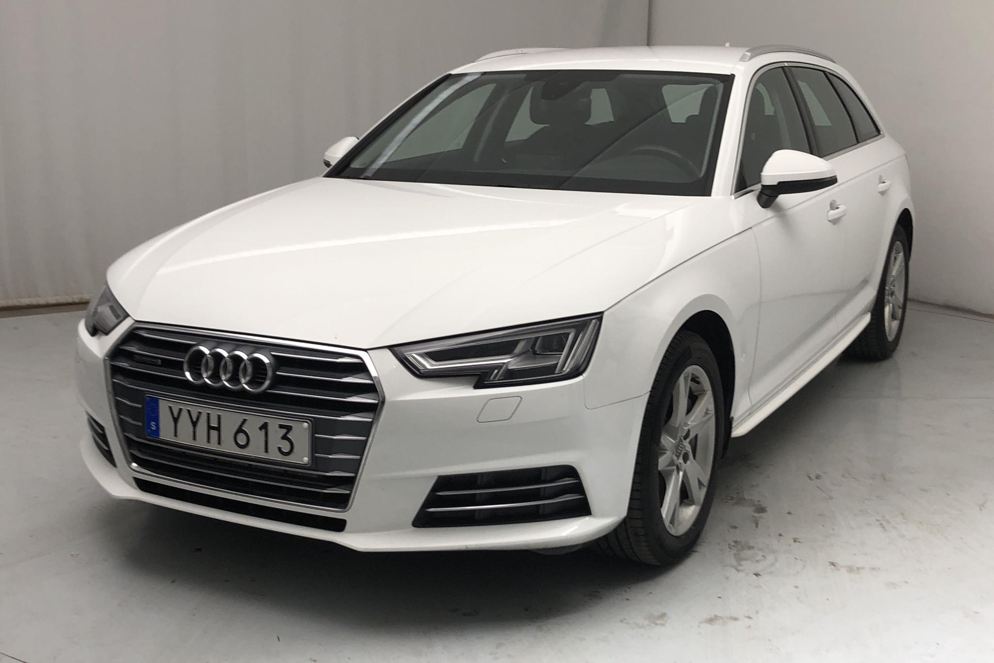 Audi A4 2.0 TDI Avant quattro (190hk) - 11 935 mil - Automat - vit - 2018