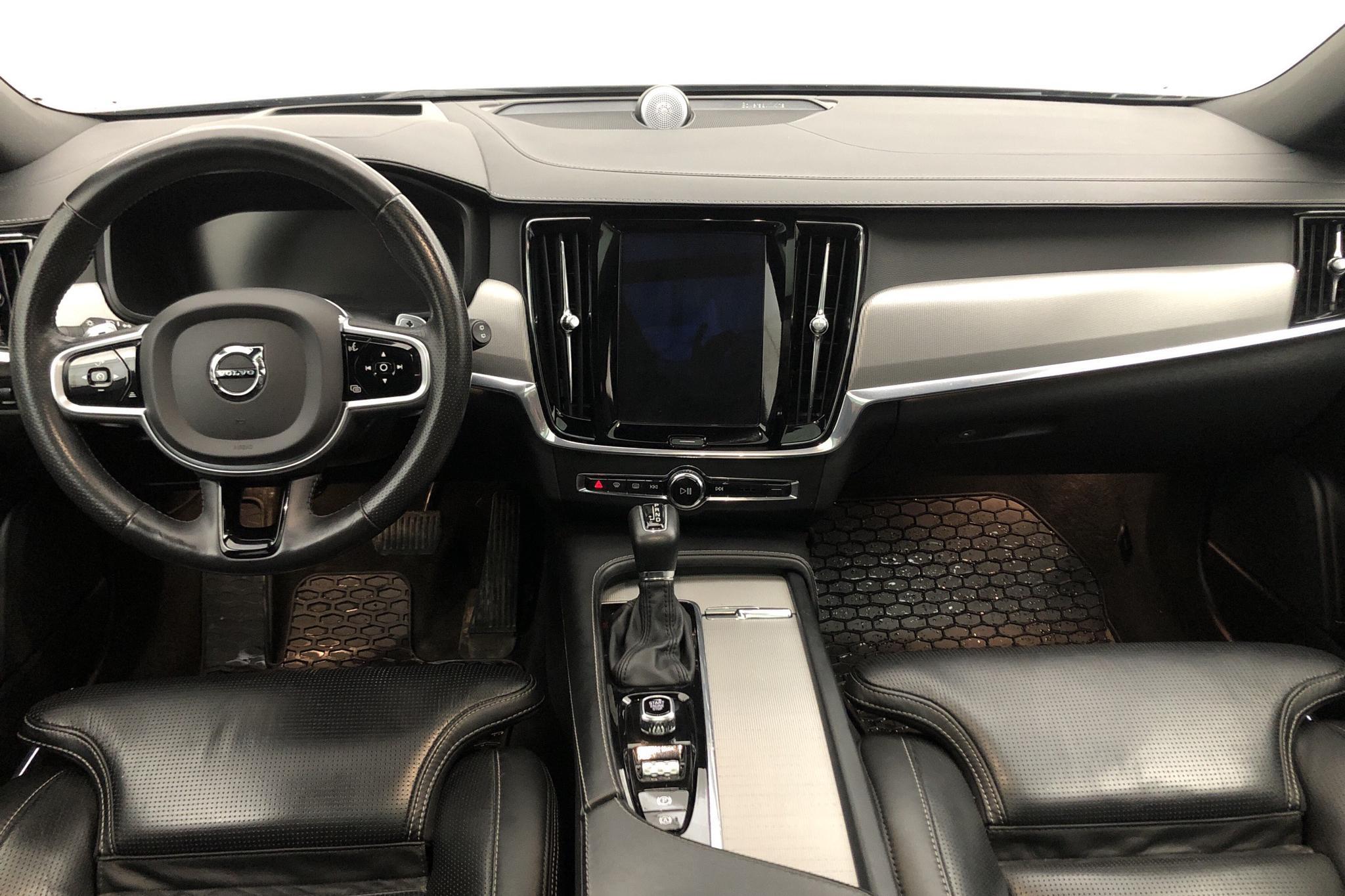 Volvo V90 D5 AWD (235hk) - 112 000 km - Automatic - black - 2018