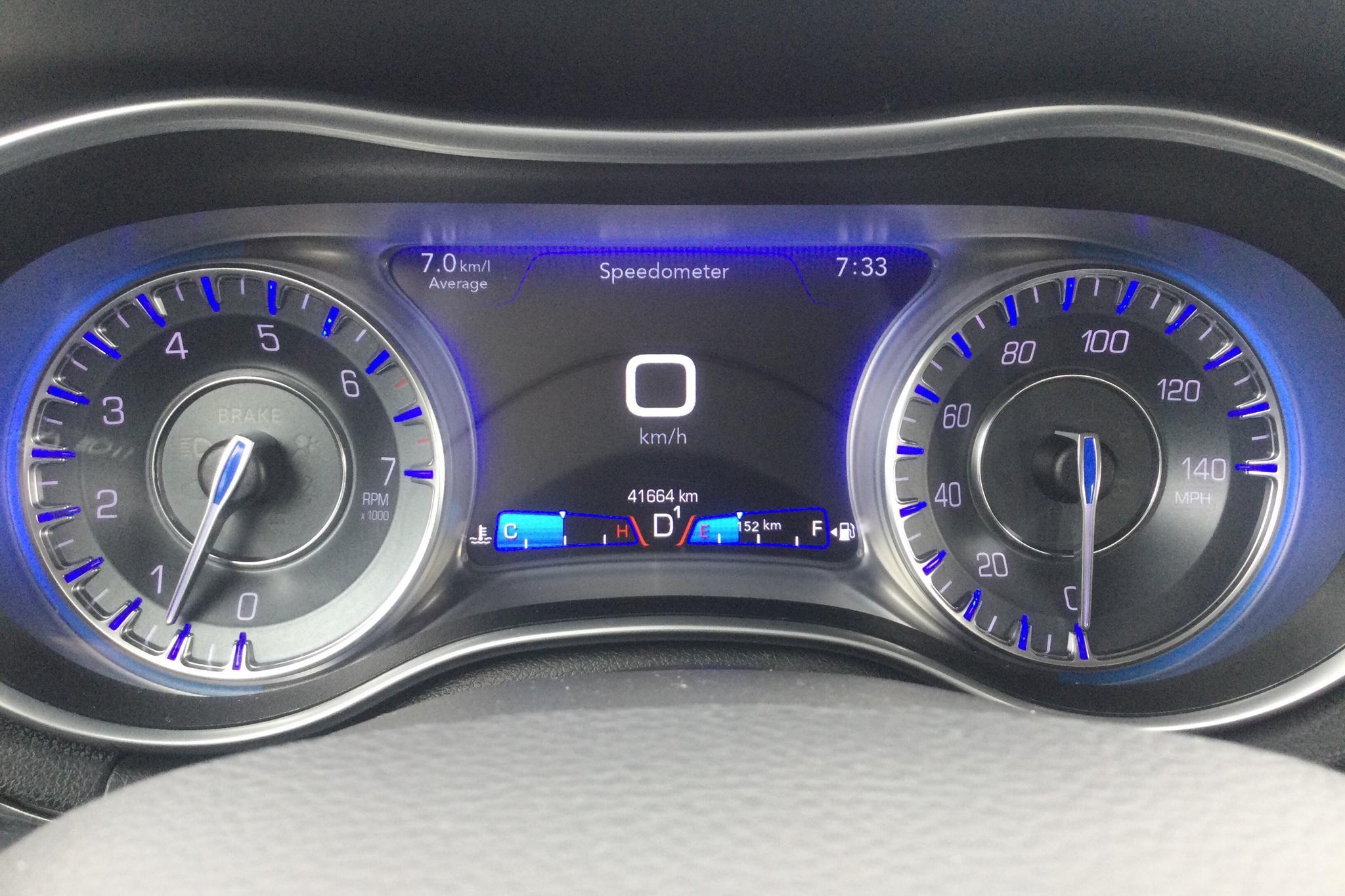 Chrysler 300C 3.6 V6 Pentastar AWD Automatisk, 296hk, 2017 - 41 660 km - Automatic - black - 2017