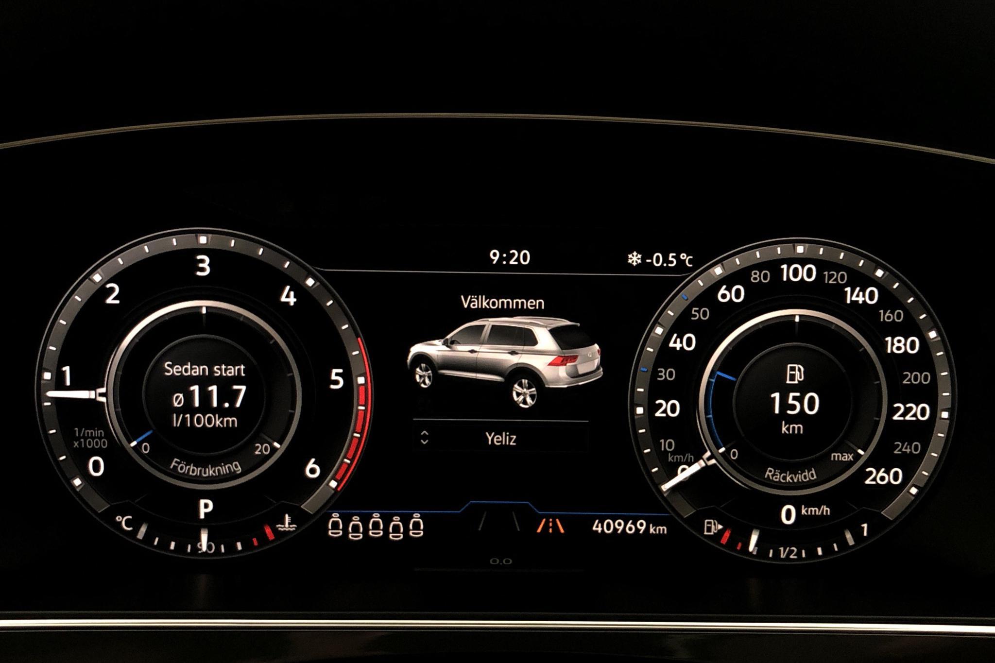 VW Tiguan Allspace 2.0 TDI 4MOTION (190hk) - 4 096 mil - Automat - vit - 2019