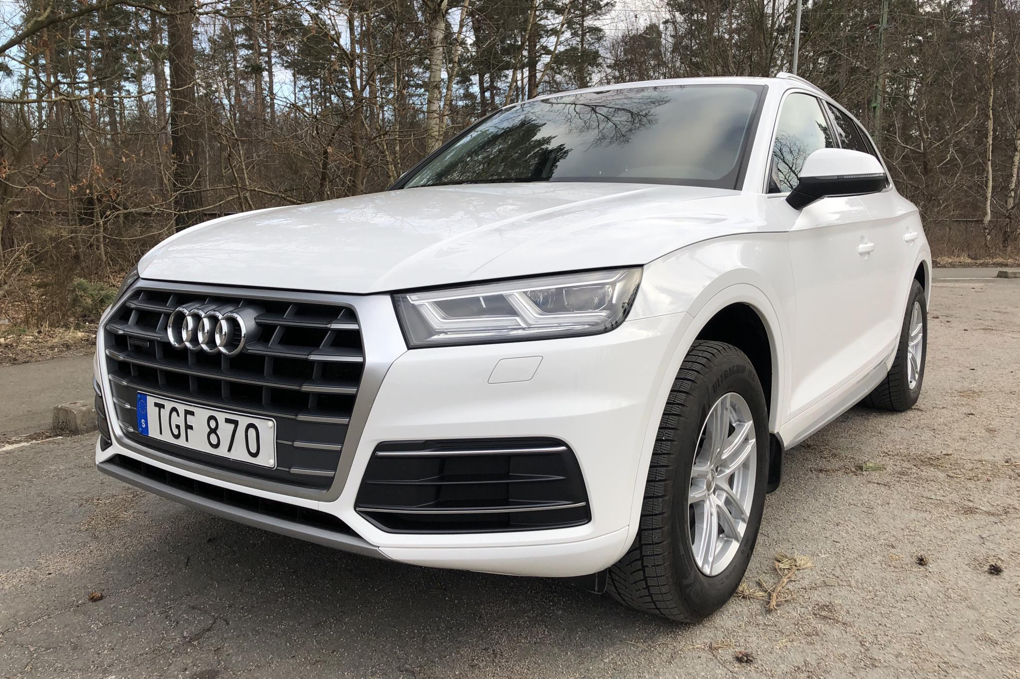 Audi Q5 2.0 TDI quattro (190hk) - 10 224 mil - Automat - vit - 2018