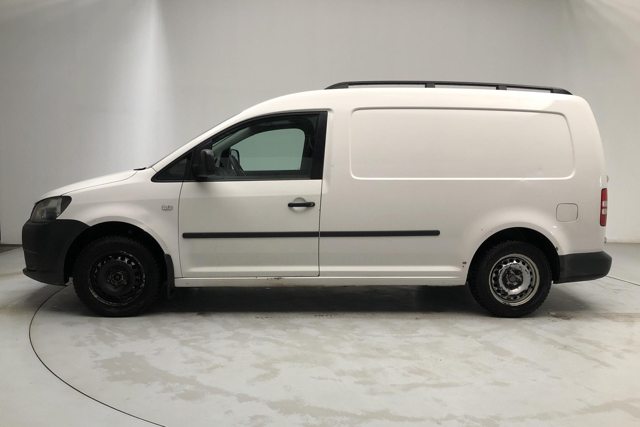 VW Caddy 1.6 TDI Maxi Skåp (102hk) - 186 230 km - Manual - white - 2013