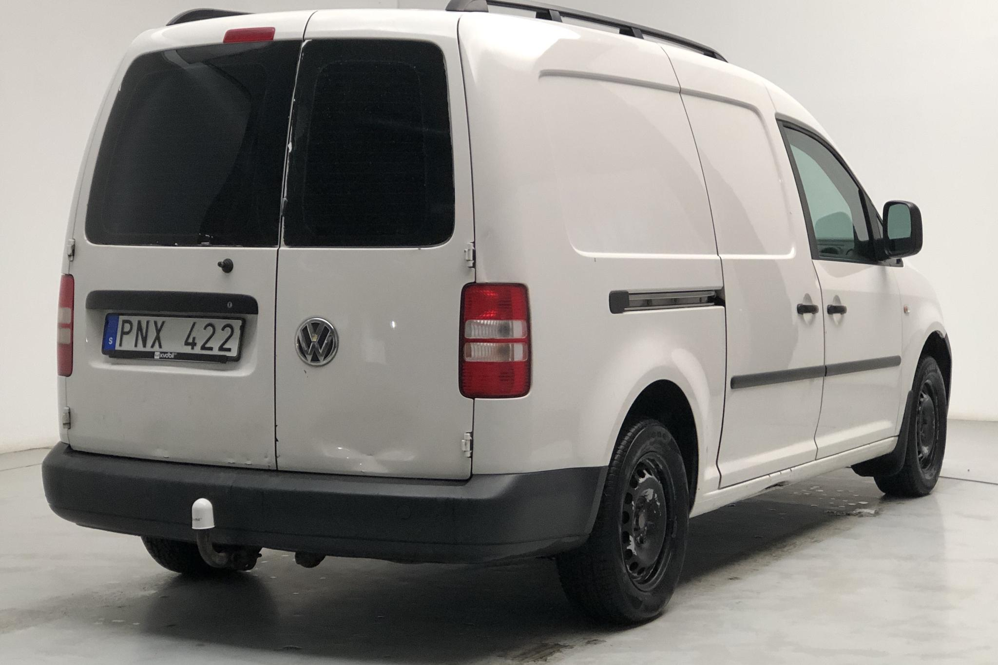 VW Caddy 1.6 TDI Maxi Skåp (102hk) - 18 623 mil - Manuell - vit - 2013