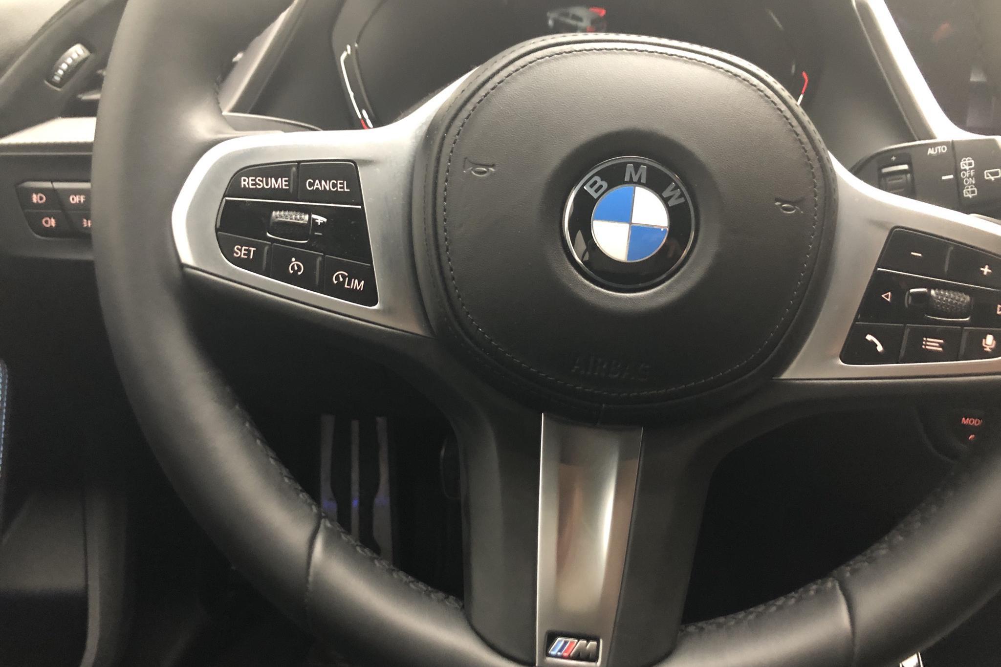 BMW 118i 5dr, F40 (140hk) - 11 370 km - Manual - blue - 2021