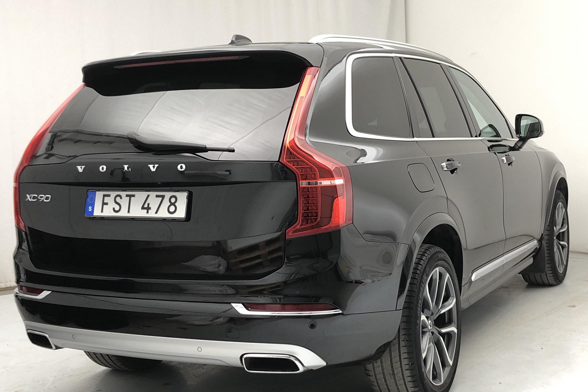 Volvo XC90 D4 AWD (190hk) - 82 100 km - Automatic - black - 2018