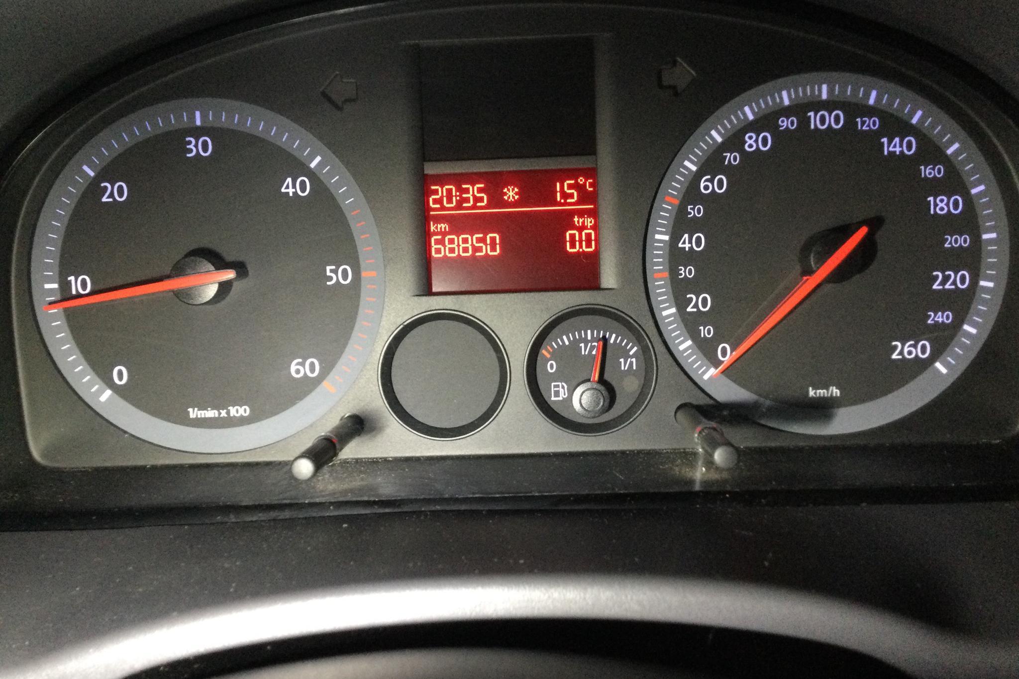 VW Caddy 1.9 TDI Skåp (105hk) - 68 850 km - Manual - white - 2006